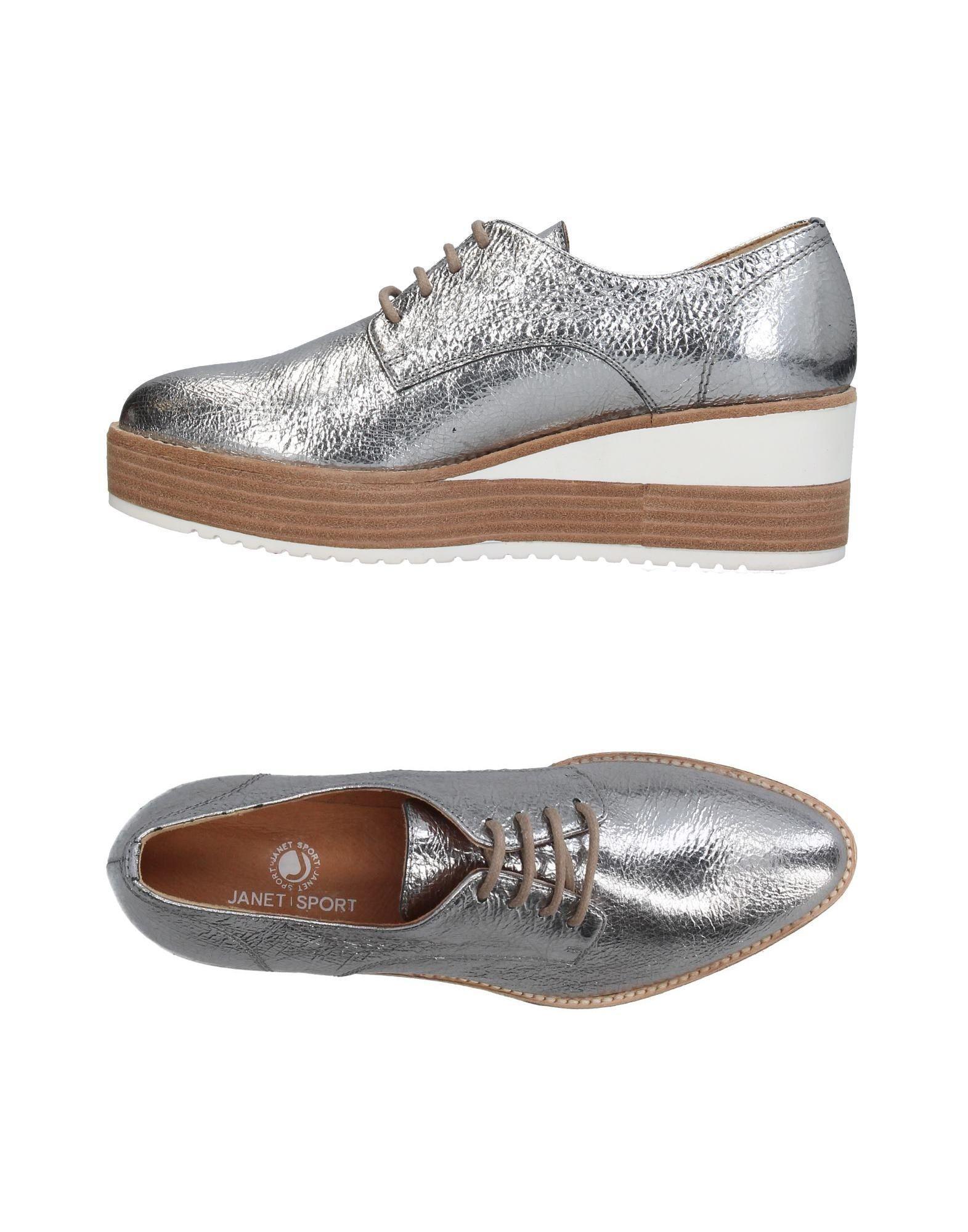 & Chaussures Janet Janet À Lacets KtcA4k