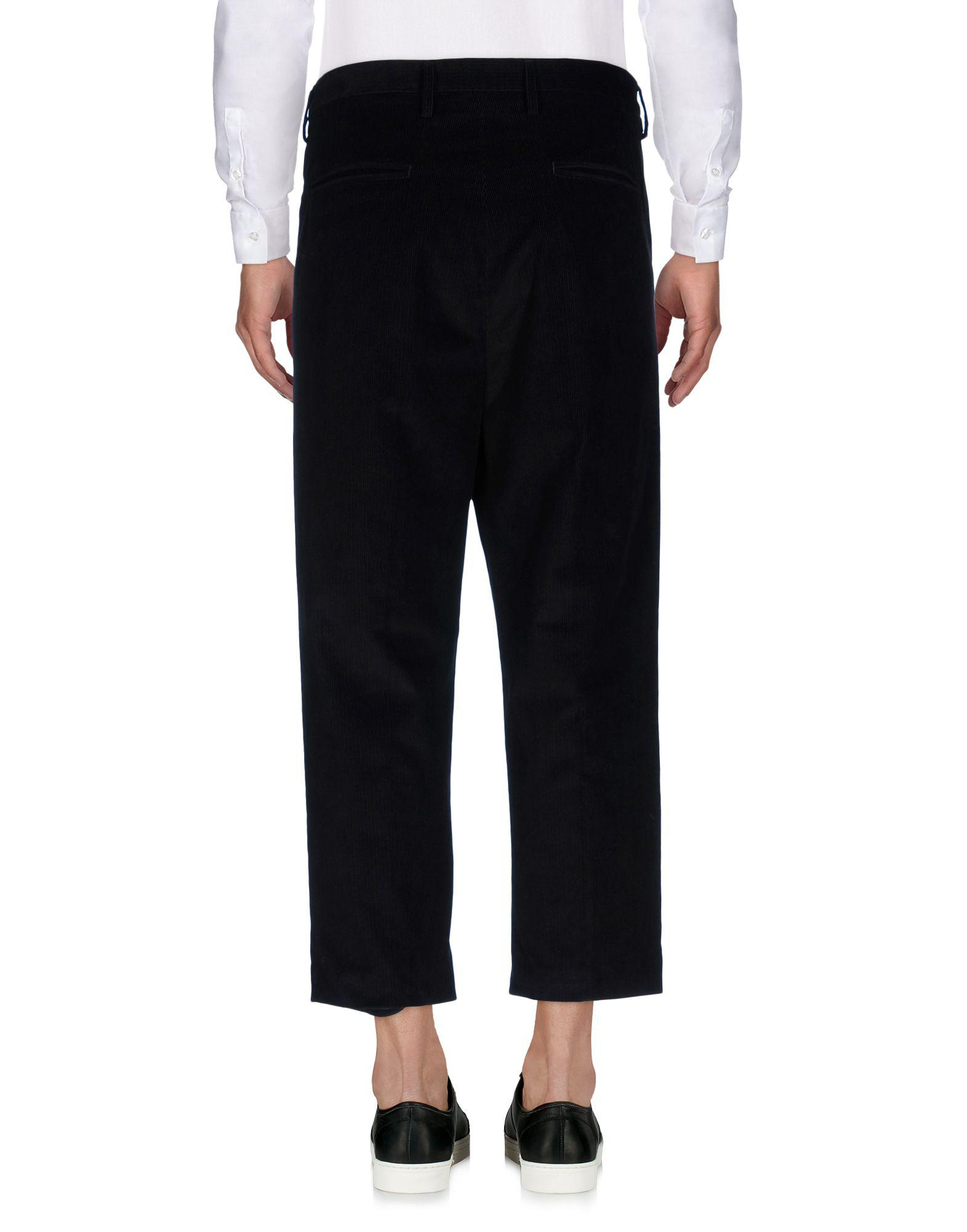 Covert Velvet Casual Pants in Black for Men