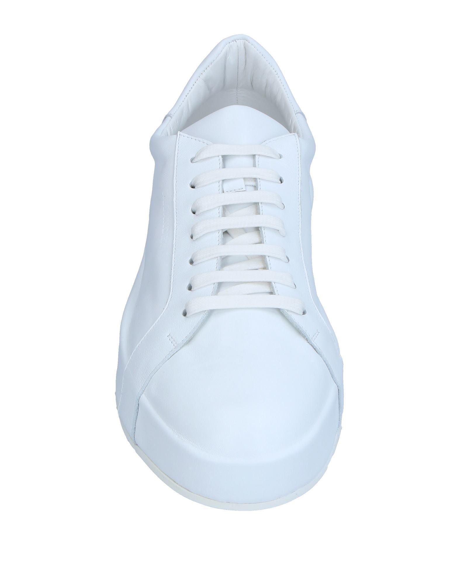 Jil Sander Leather Low-tops & Sneakers in White