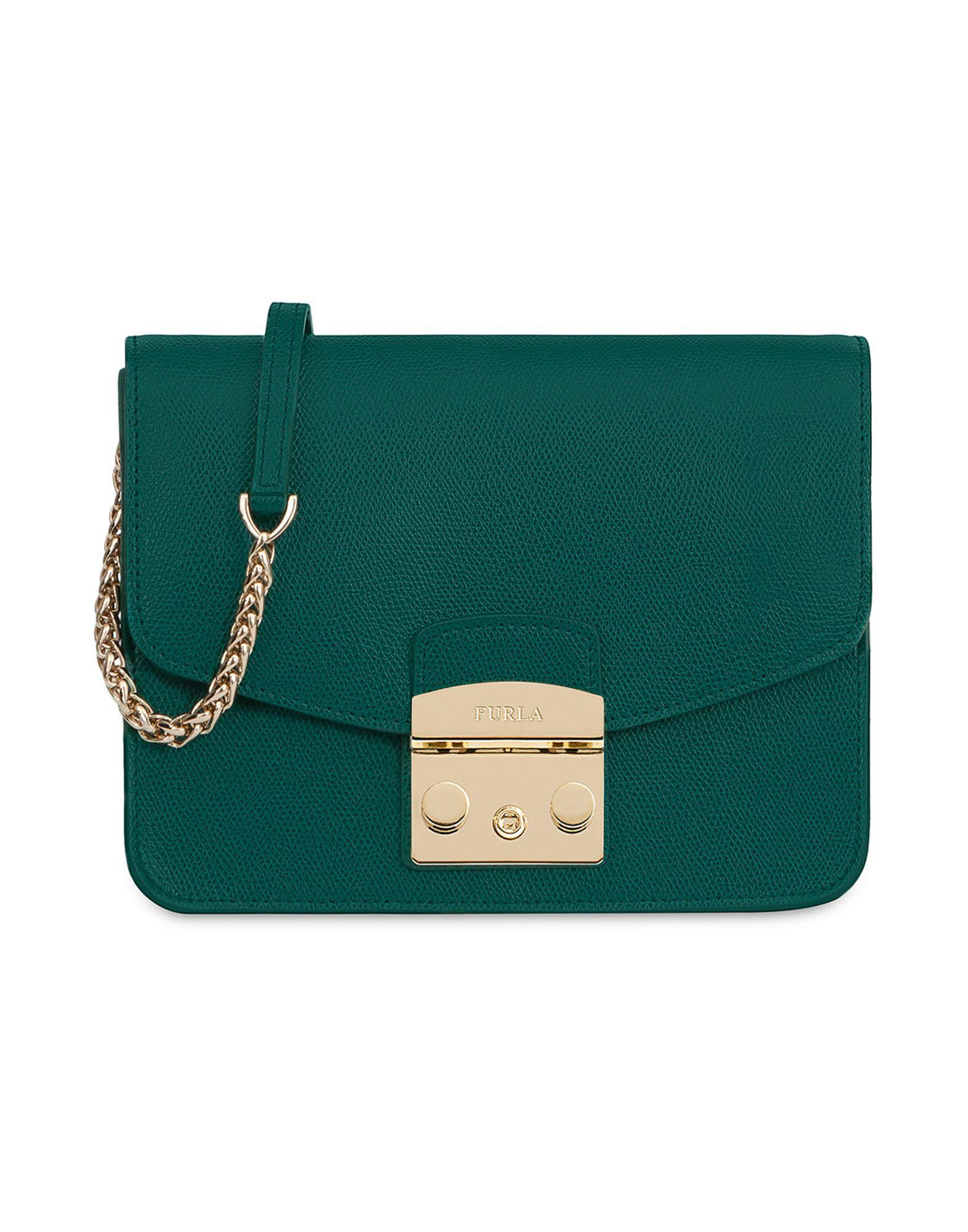 Verde Furla Lyst Color De Con Bolso Bandolera b7gf6Yy