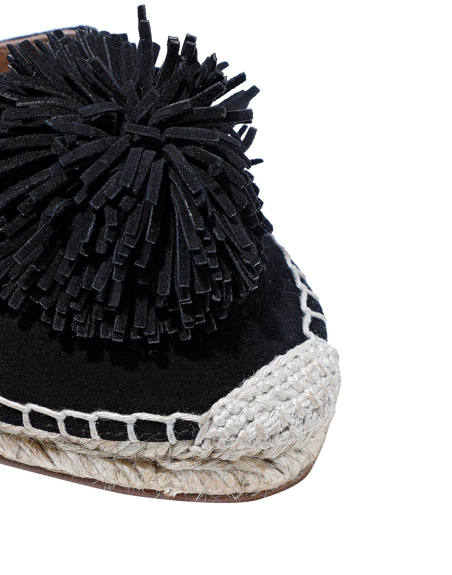 Espadrillas Aquazzura de color Negro