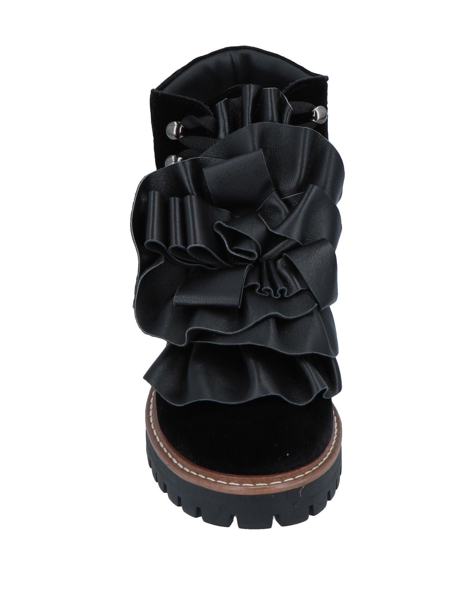 Botines de caña alta Pokemaoke de color Negro