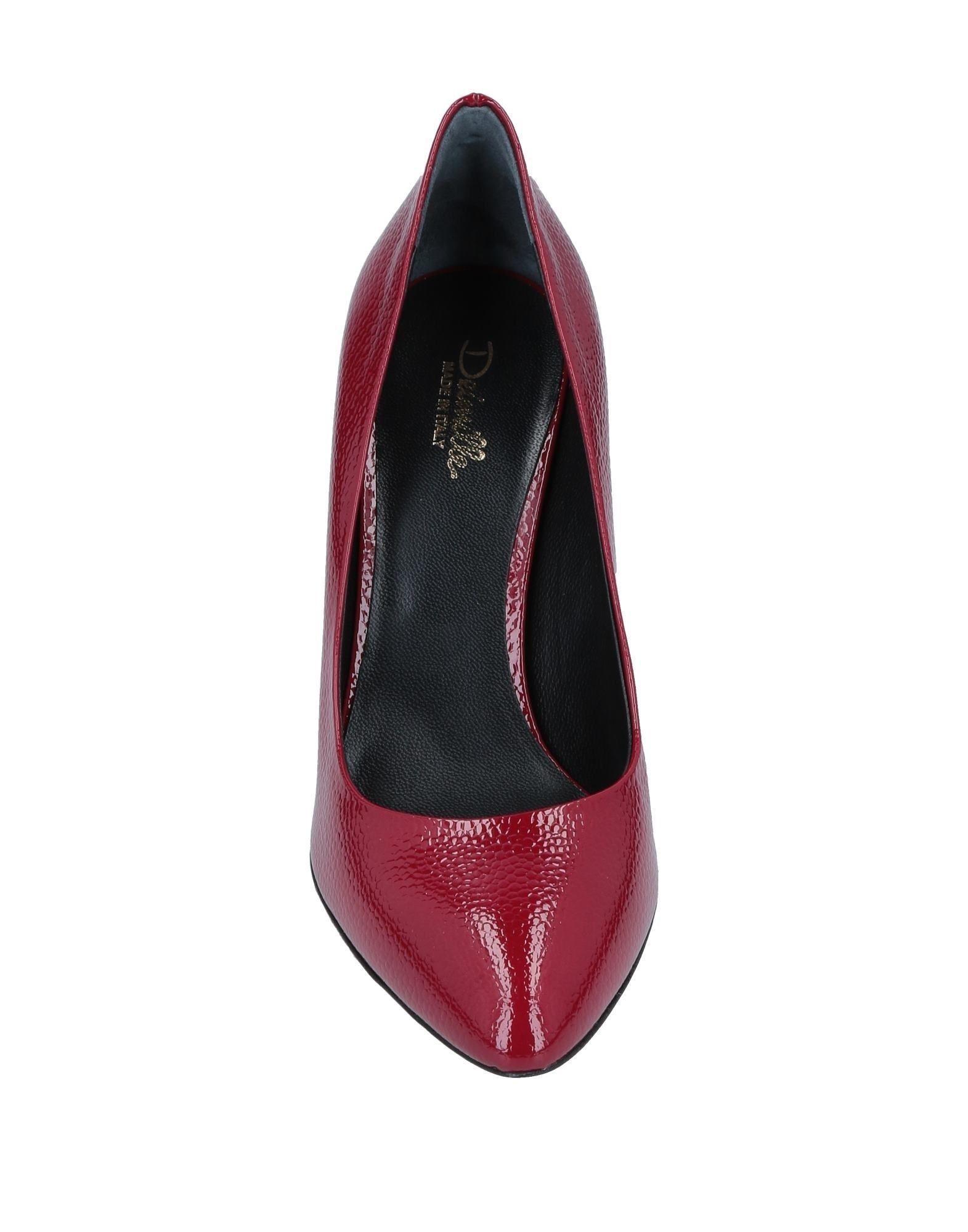 Zapatos de salón Deimille de Cuero de color Rojo