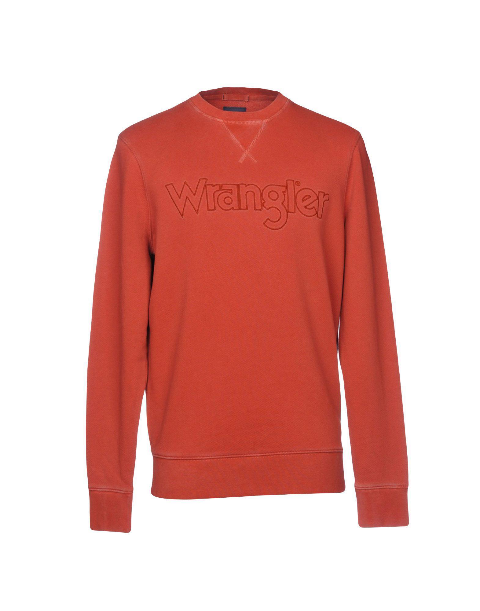 Men Wrangler In For Sweatshirt Lyst Red IHwrqxInp