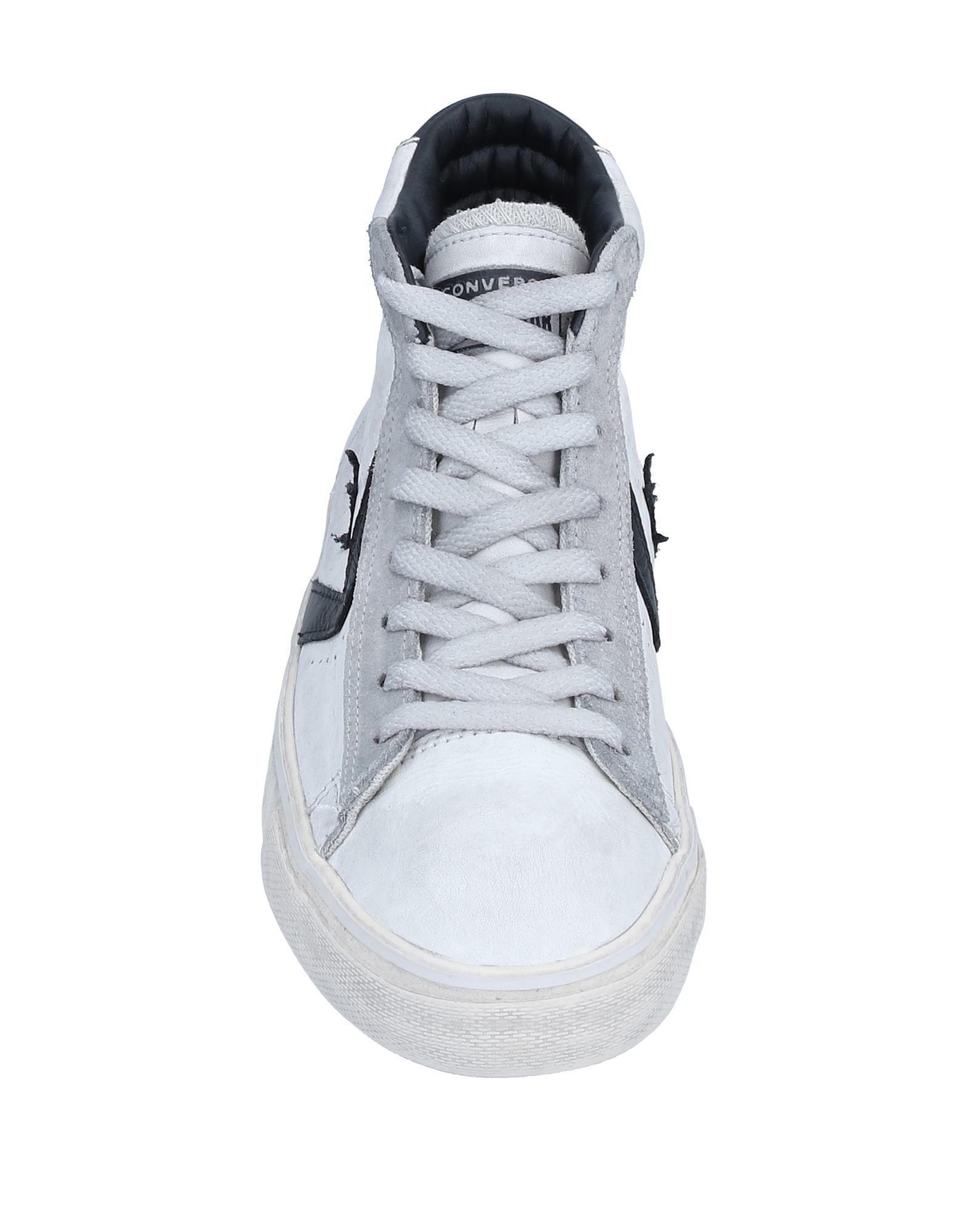 Sneakers abotinadas Converse de Cuero de color Gris para hombre
