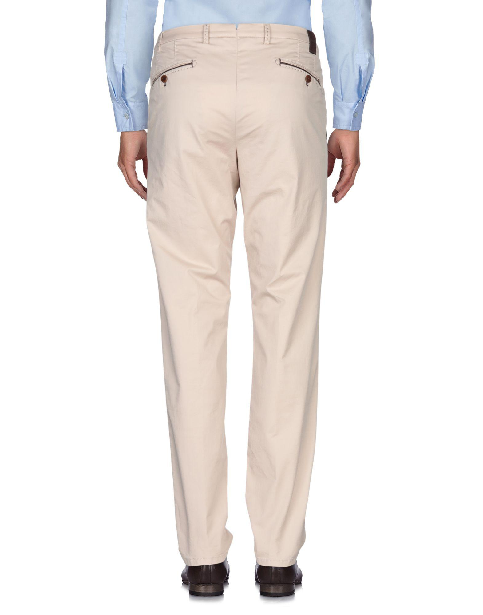 MMX Leather Casual Trouser in Beige (Natural) for Men