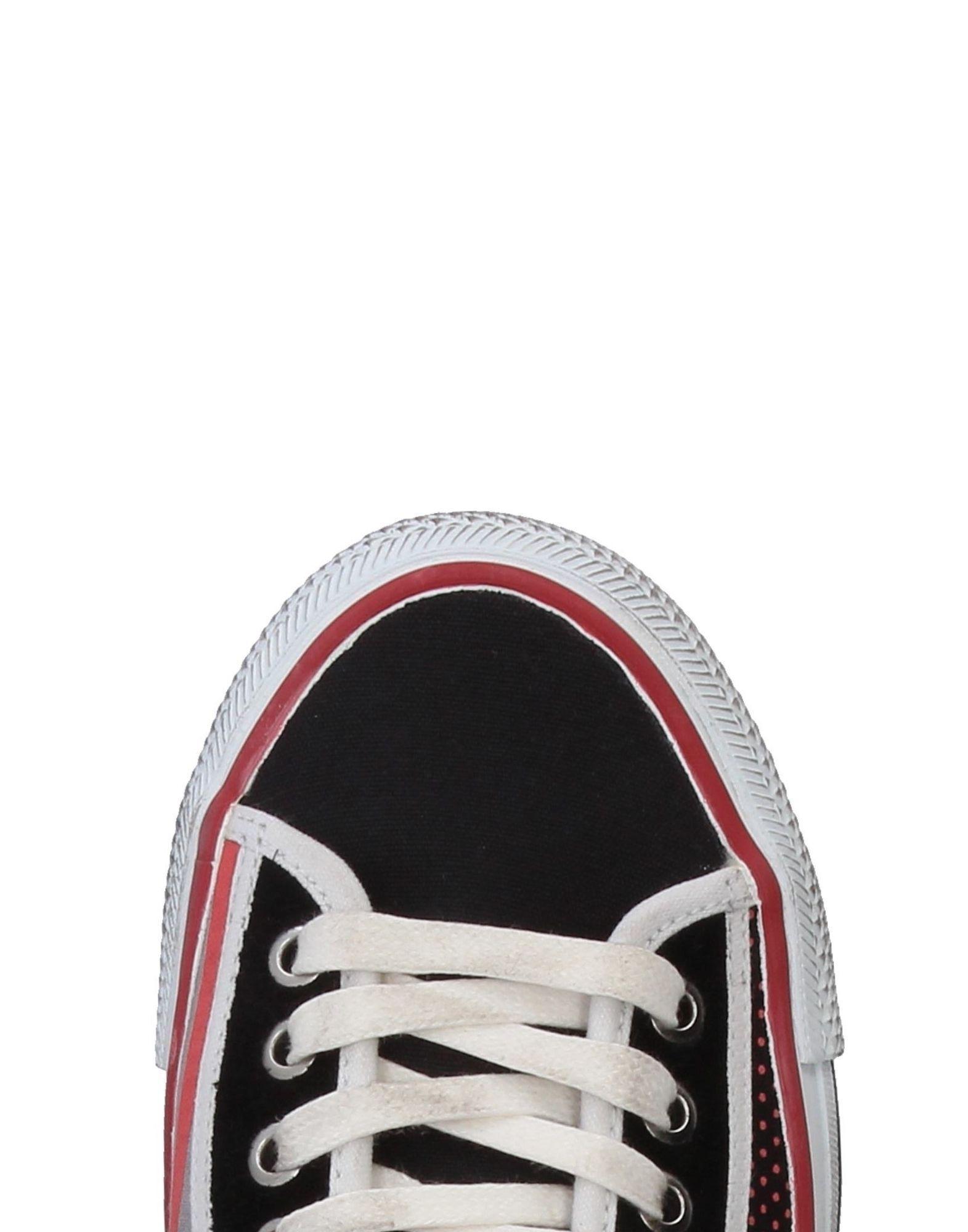 Sneakers abotinadas D.A.T.E. Originals de Lona de color Negro