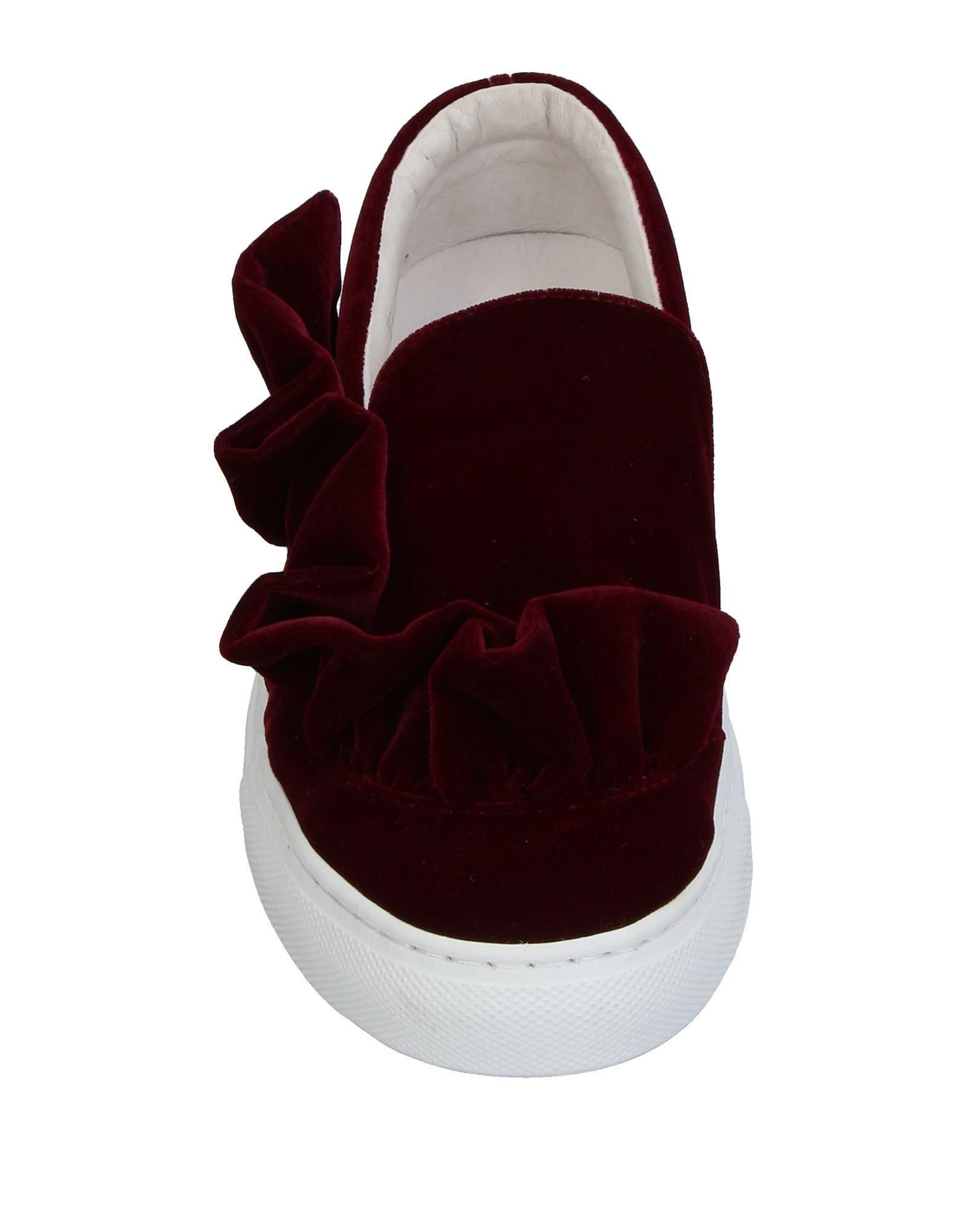 VIA VELA 14 Velvet Low-tops & Sneakers