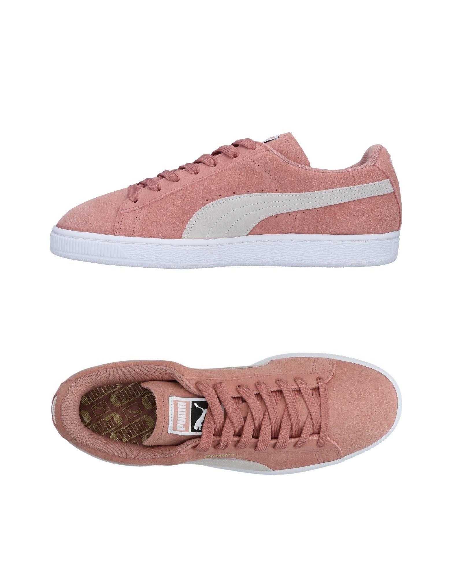 puma rosa pastel