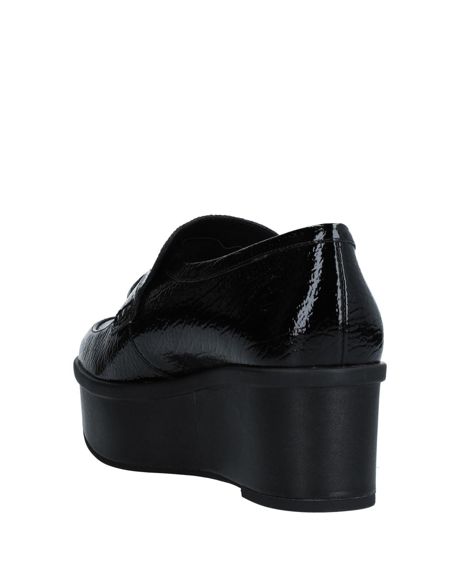 Mocasines What For de Cuero de color Negro