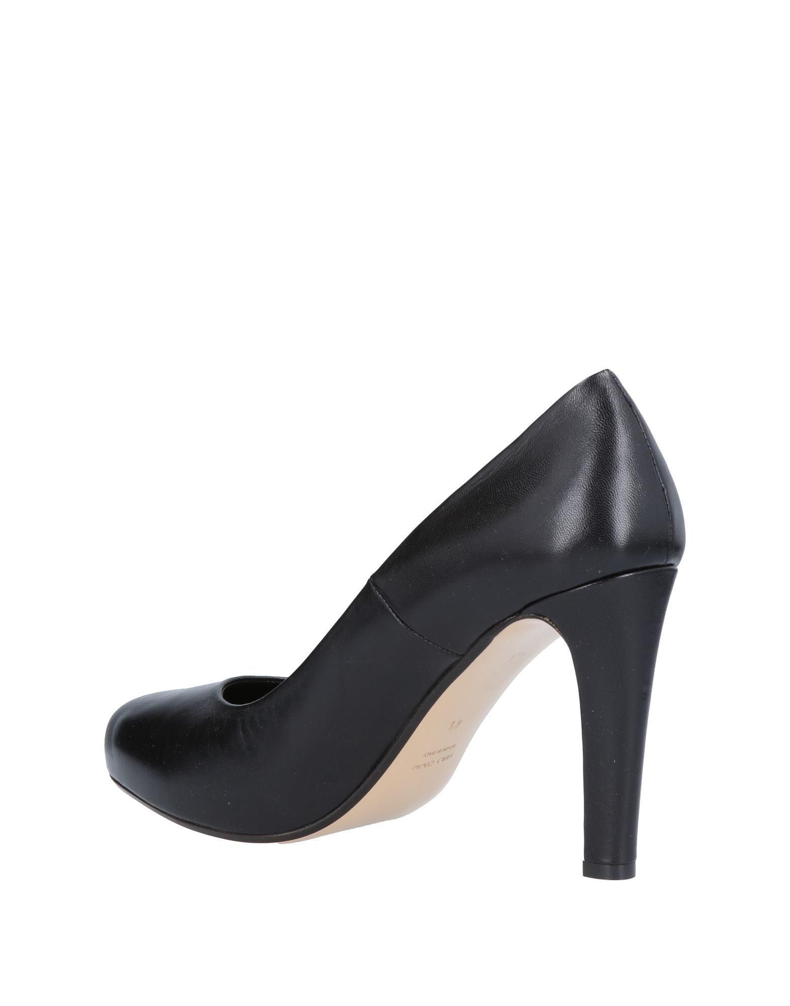 Zapatos de salón Couture de Cuero de color Negro