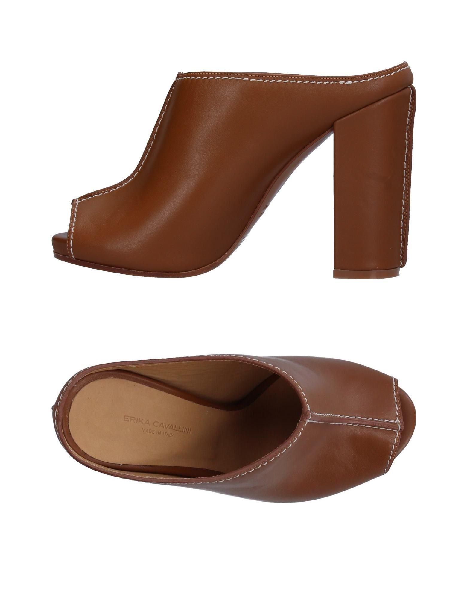 discount shop for ERIKA CAVALLINI Open-toe mules visit cheap price zdcnkLyR