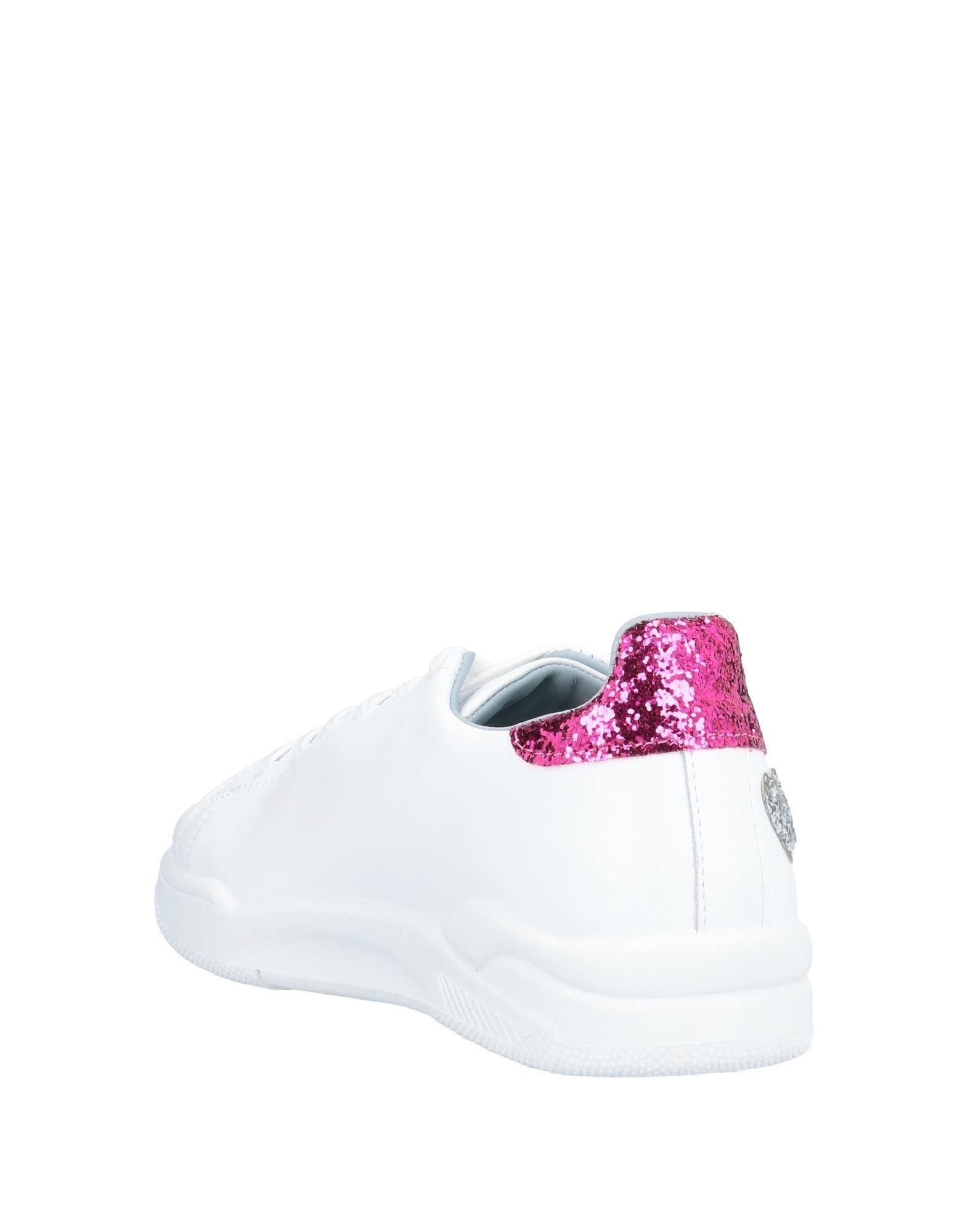 Sneakers & Deportivas Chiara Ferragni de Cuero de color Blanco