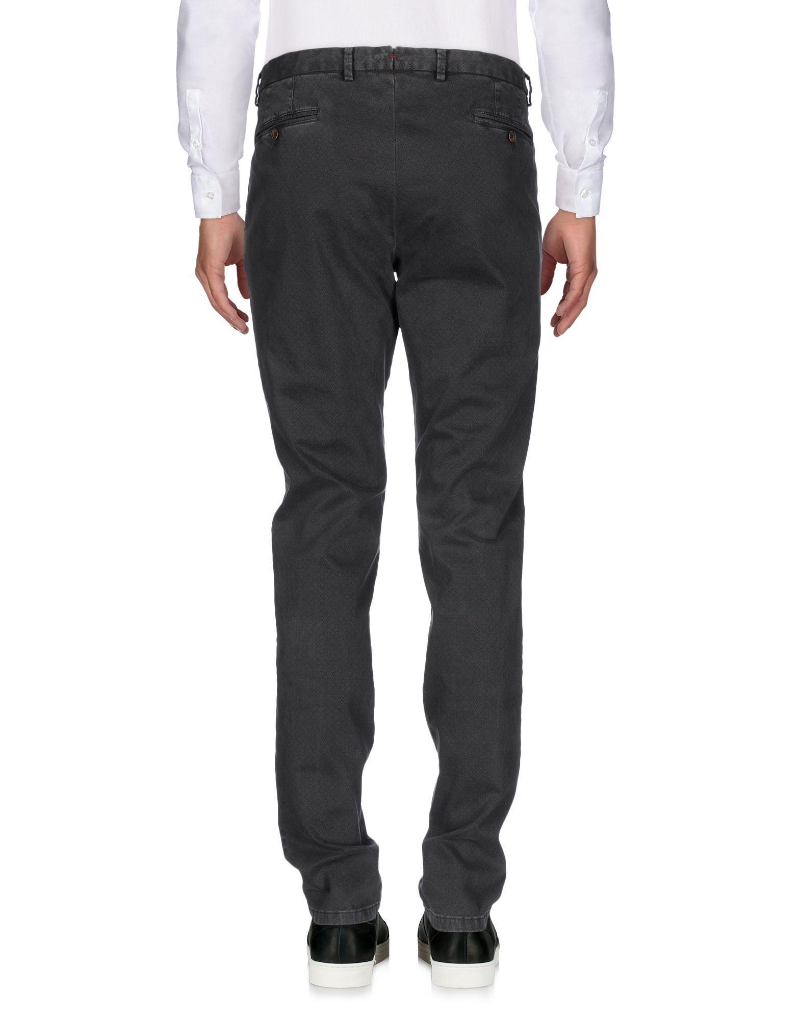 Maestrami Cotton Casual Trouser in Lead (Grey) for Men
