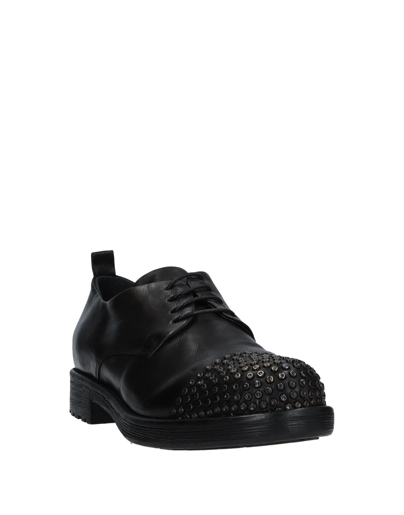 Zapatos de cordones FRU.IT de Cuero de color Negro