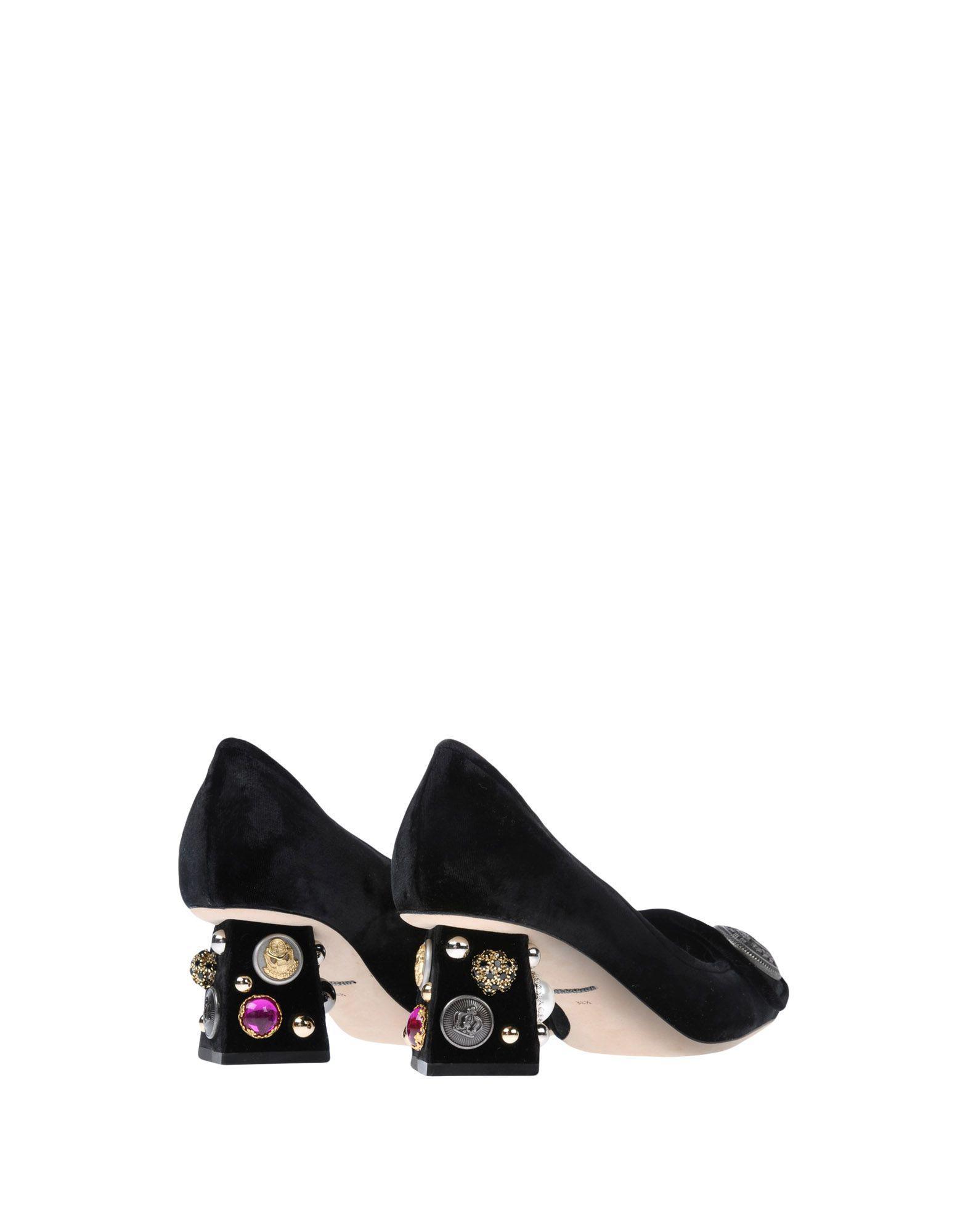 Zapatos de salón Dolce & Gabbana de Cuero de color Negro