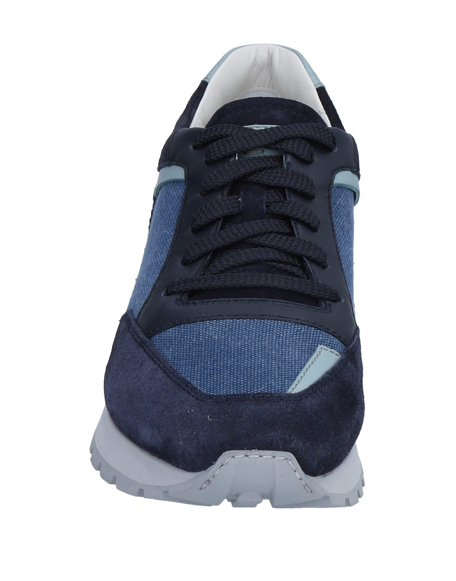Sneakers & Deportivas Santoni de Lona de color Azul para hombre