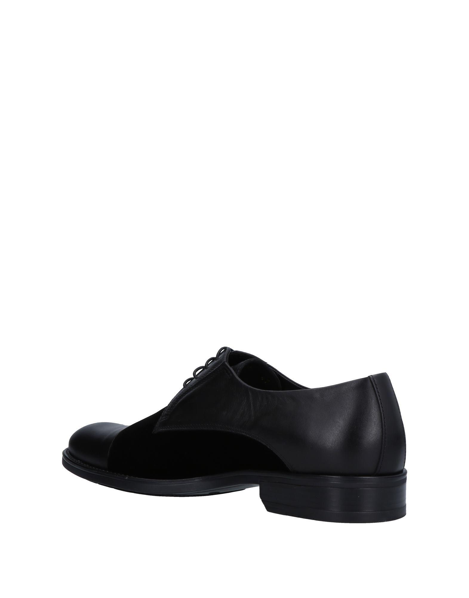 Gianfranco Lattanzi Velvet Lace-up Shoe in Black for Men