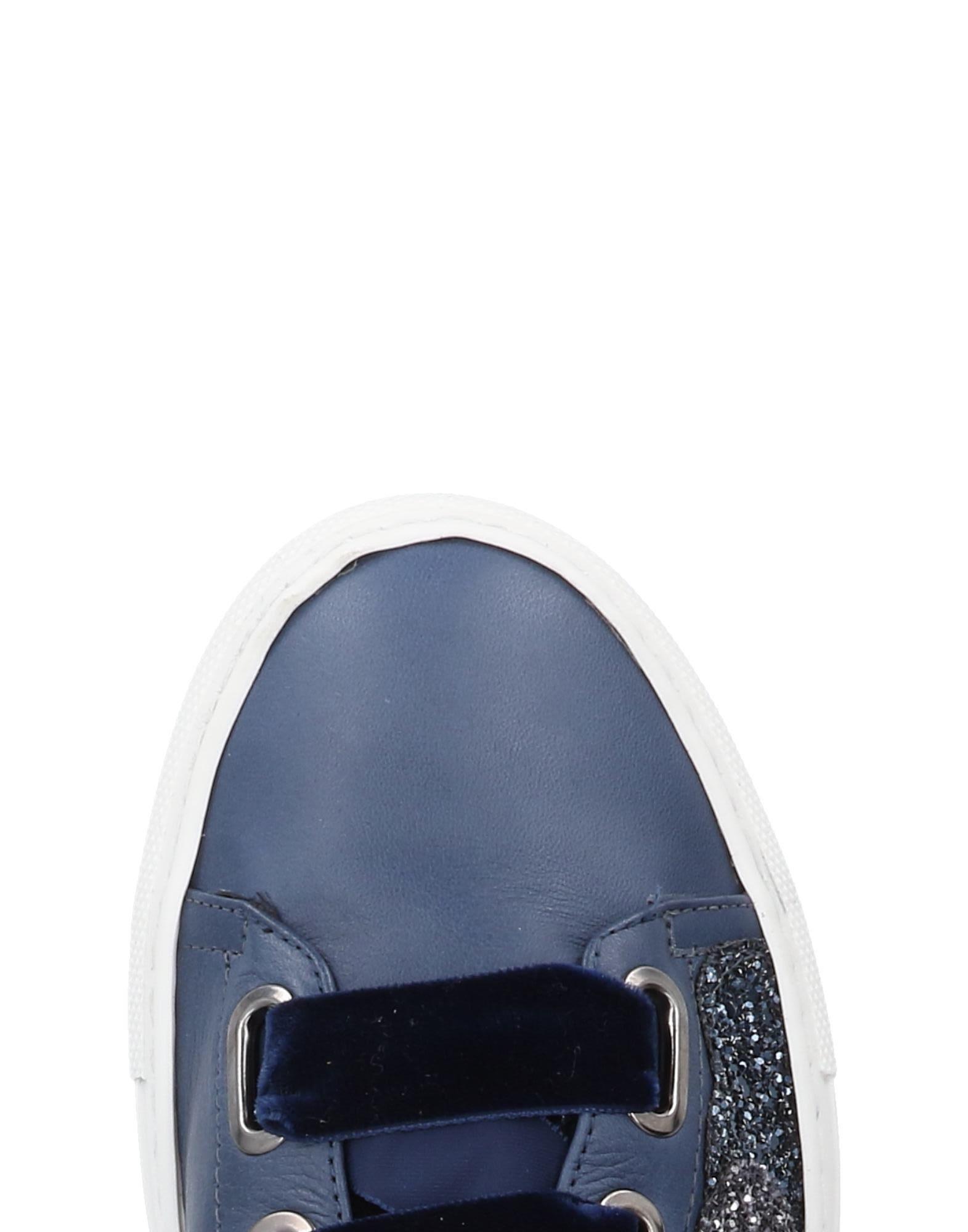 Stele Leather Low-tops & Sneakers in Dark Blue (Blue)