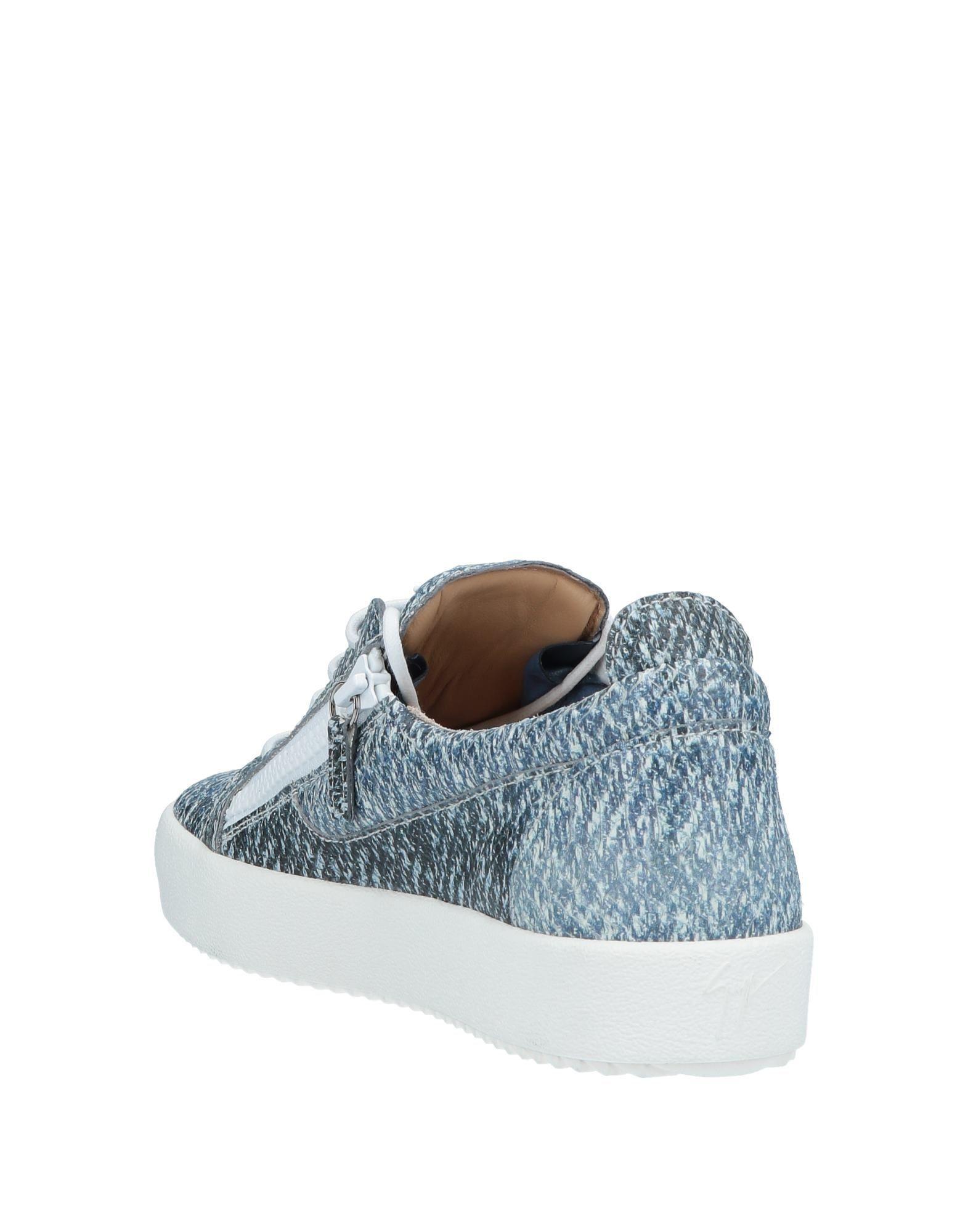 0e37f74720a Lyst - Giuseppe Zanotti Low-tops   Sneakers in Blue for Men