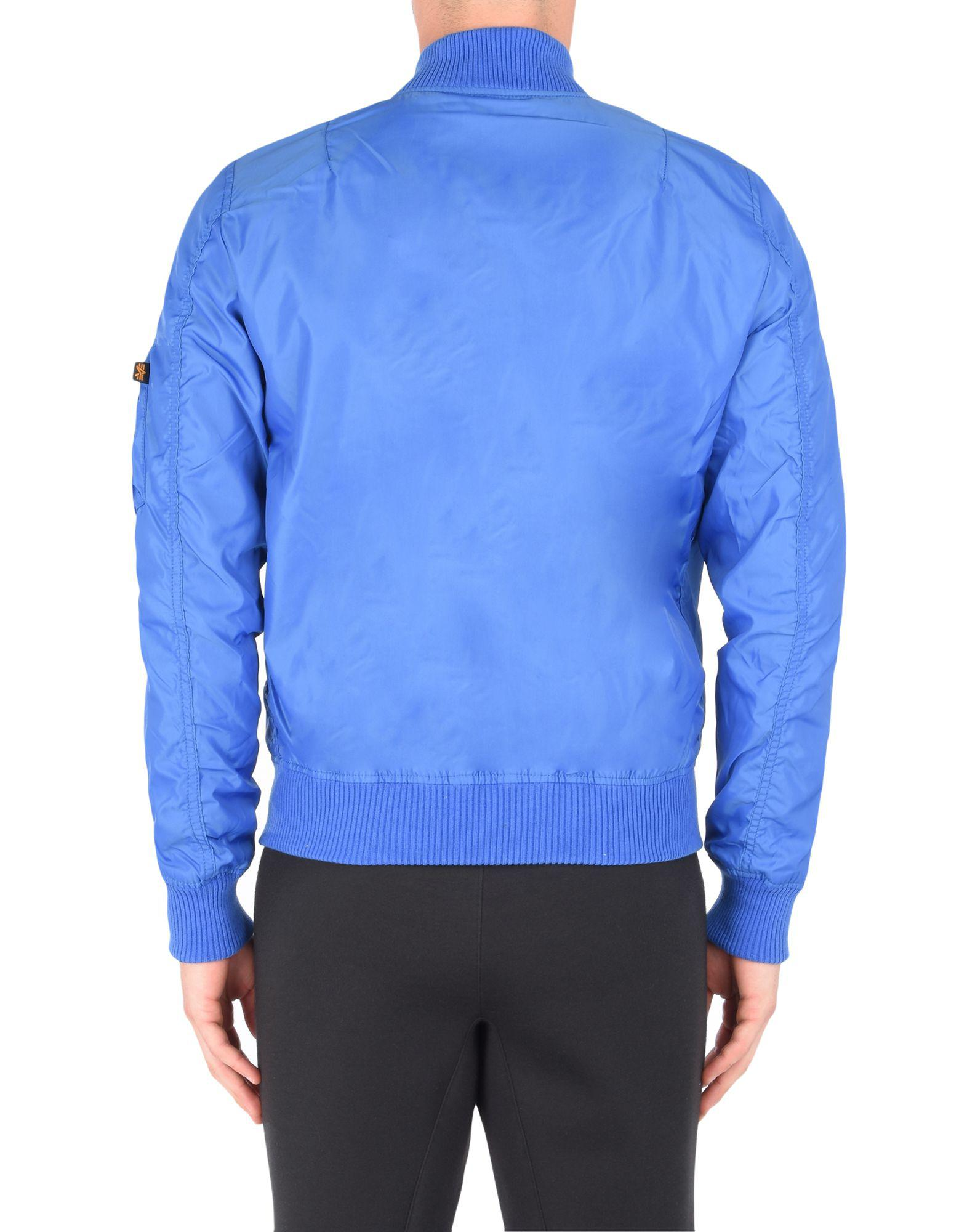 Alpha Industries Synthetic Jacket in Azure (Blue) for Men