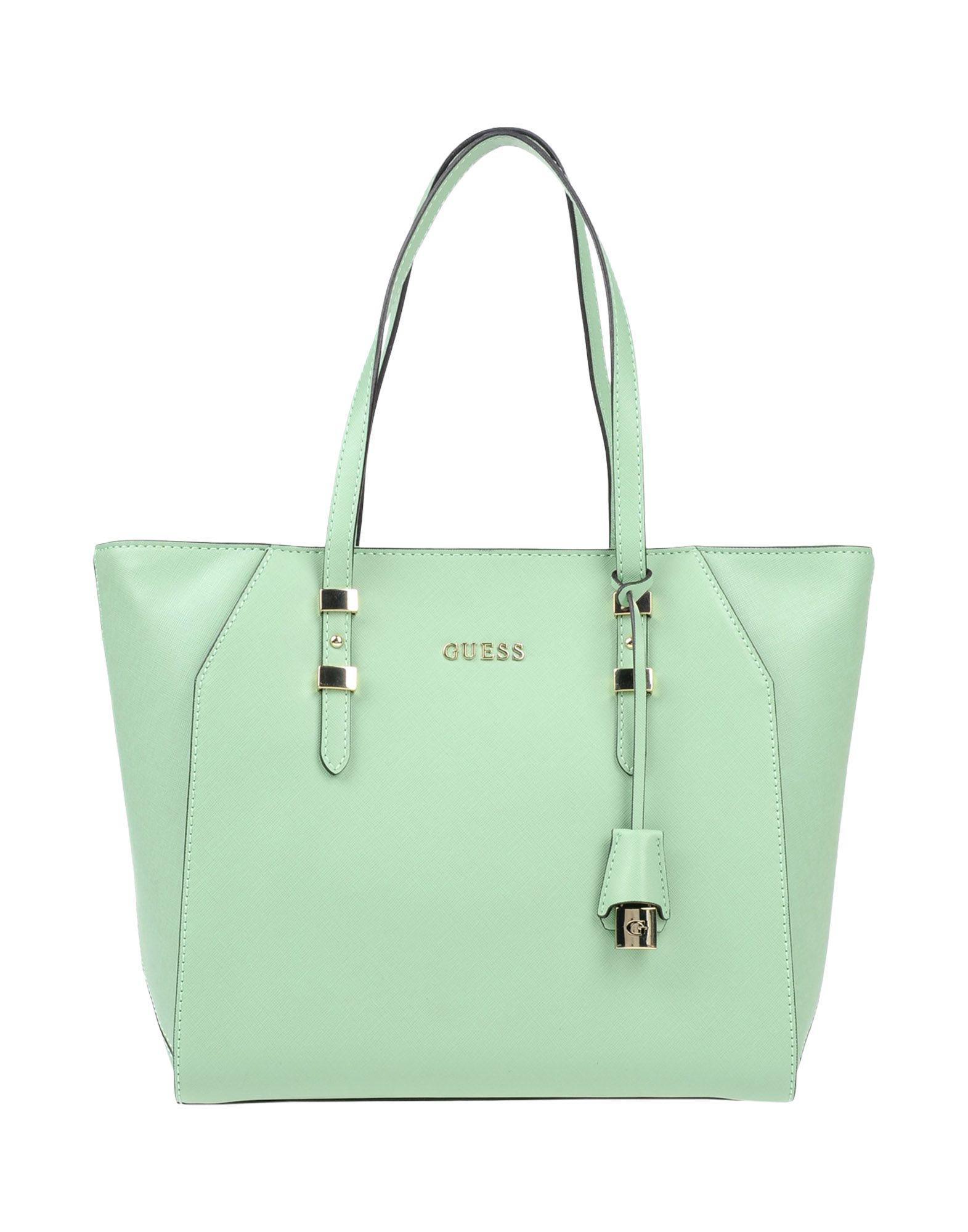 3bf08ac7ddfa Guess Handbag in Green - Lyst