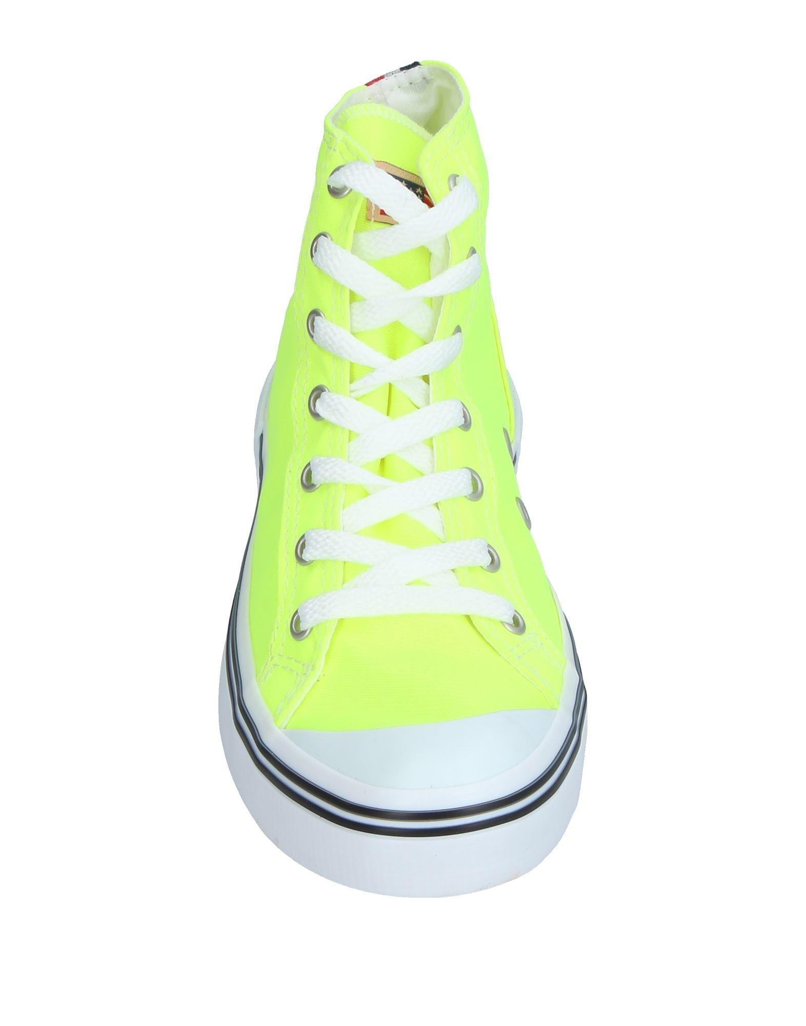 U.S. POLO ASSN. Rubber High-tops & Sneakers in Yellow