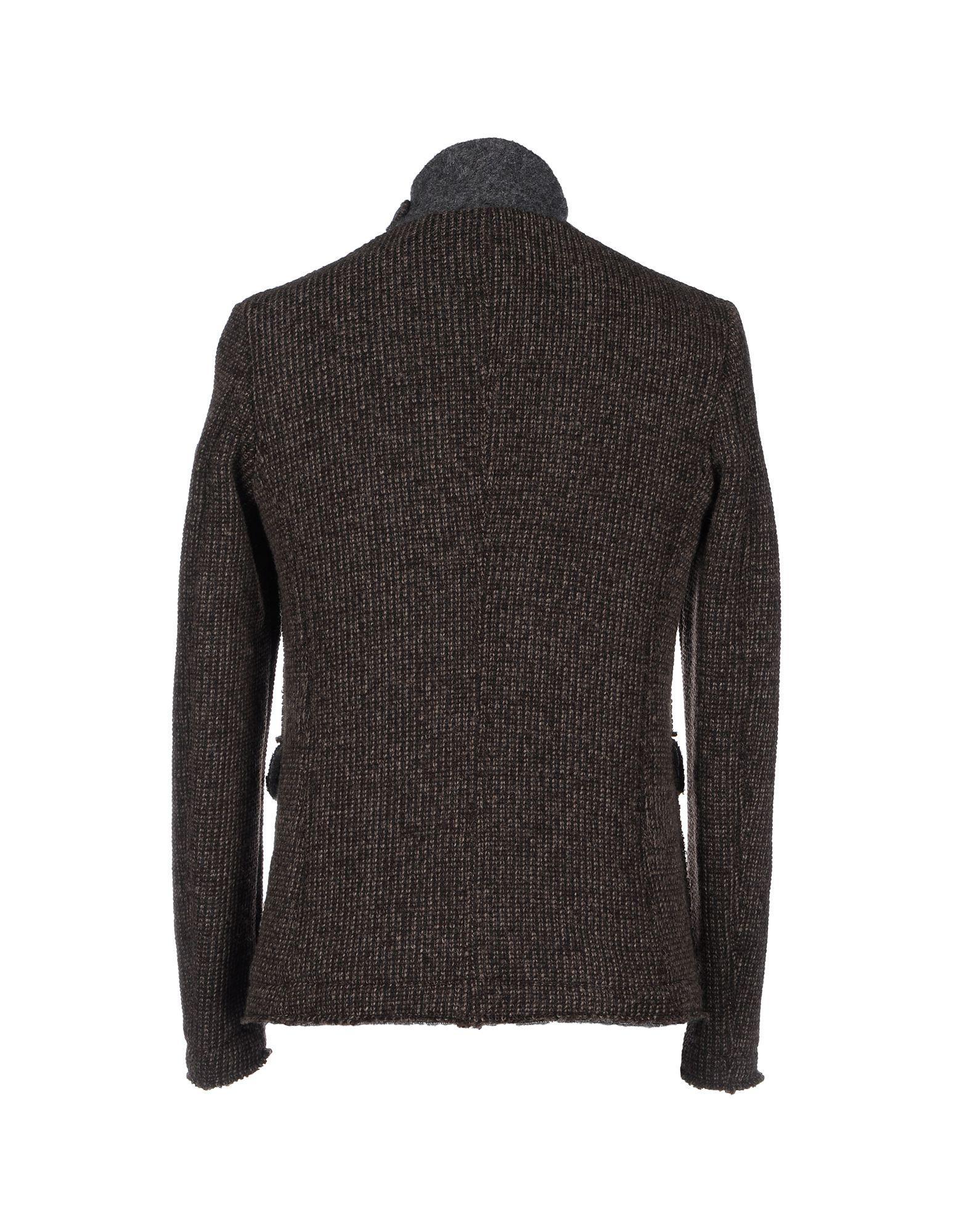 Dimattia Synthetic Jacket in Dark Brown (Brown) for Men