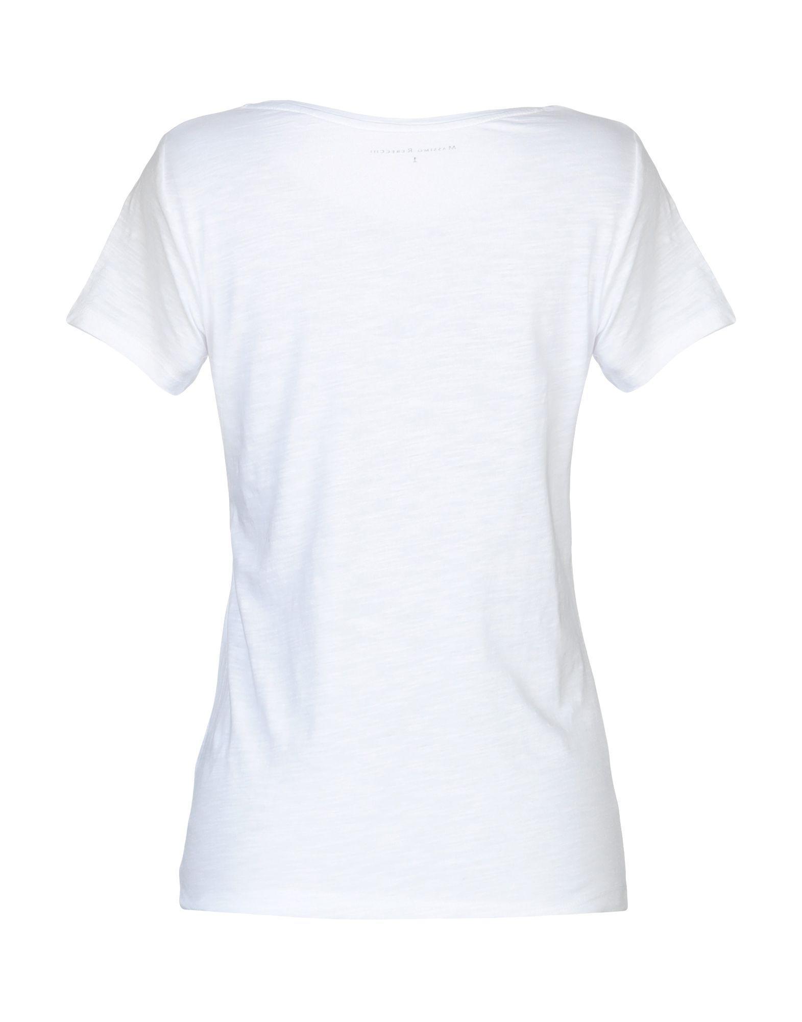 75faaa4a581e51 Lyst - Massimo Rebecchi T-shirt in White