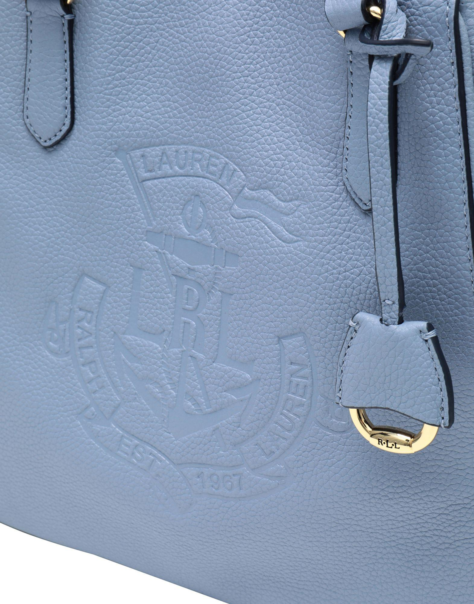 cac6b4db4a Lyst - Sac à main Lauren by Ralph Lauren en coloris Bleu