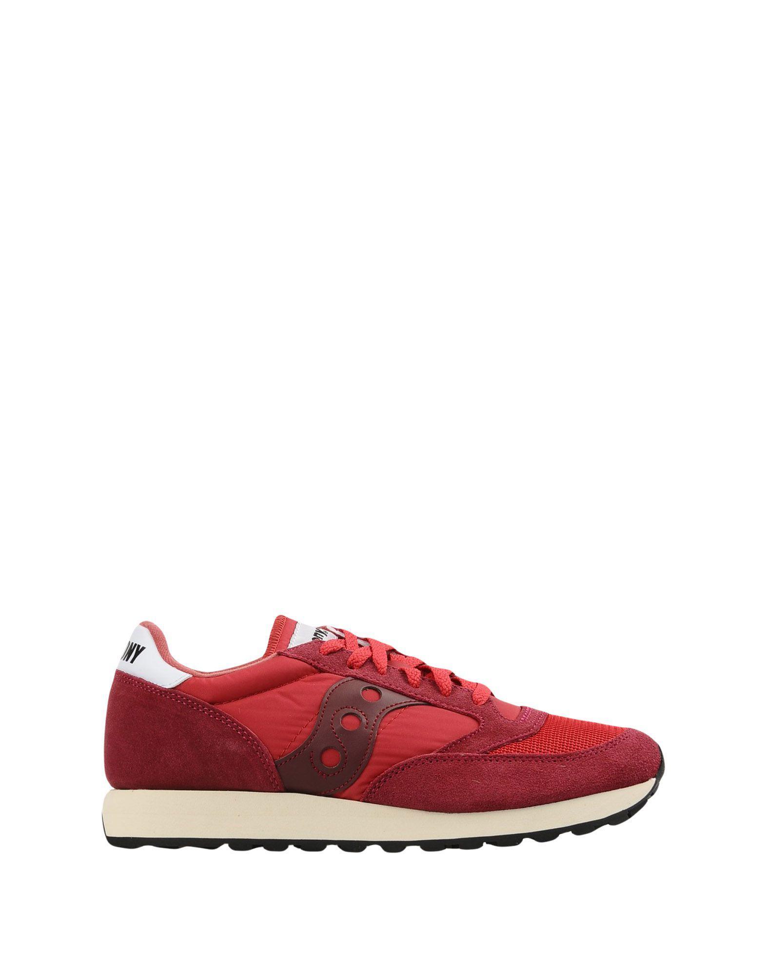 Sneakers & Tennis basses Daim Saucony pour homme en coloris Rouge EUZu