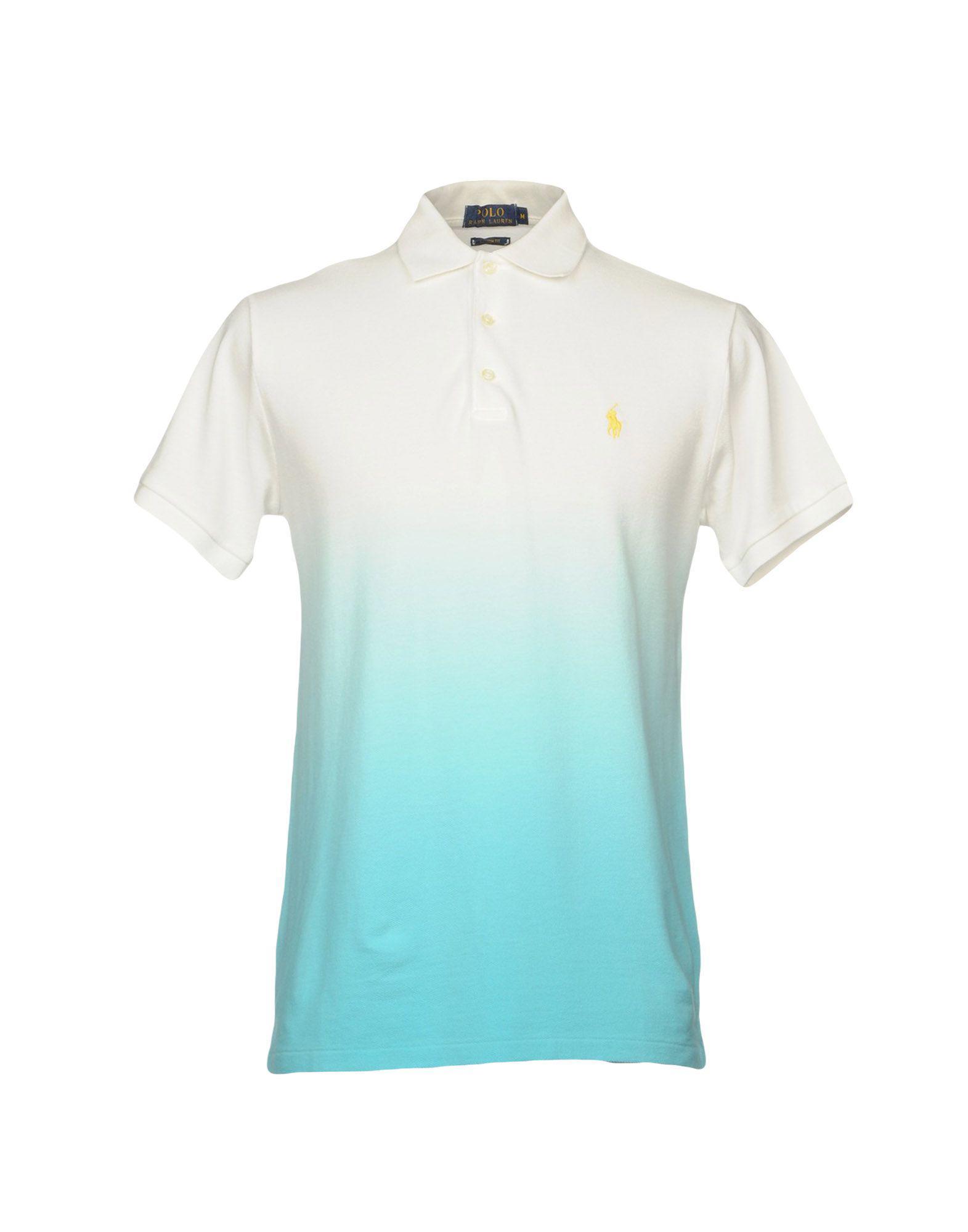 27470d40 Polo Ralph Lauren Polo Shirt in White for Men - Lyst
