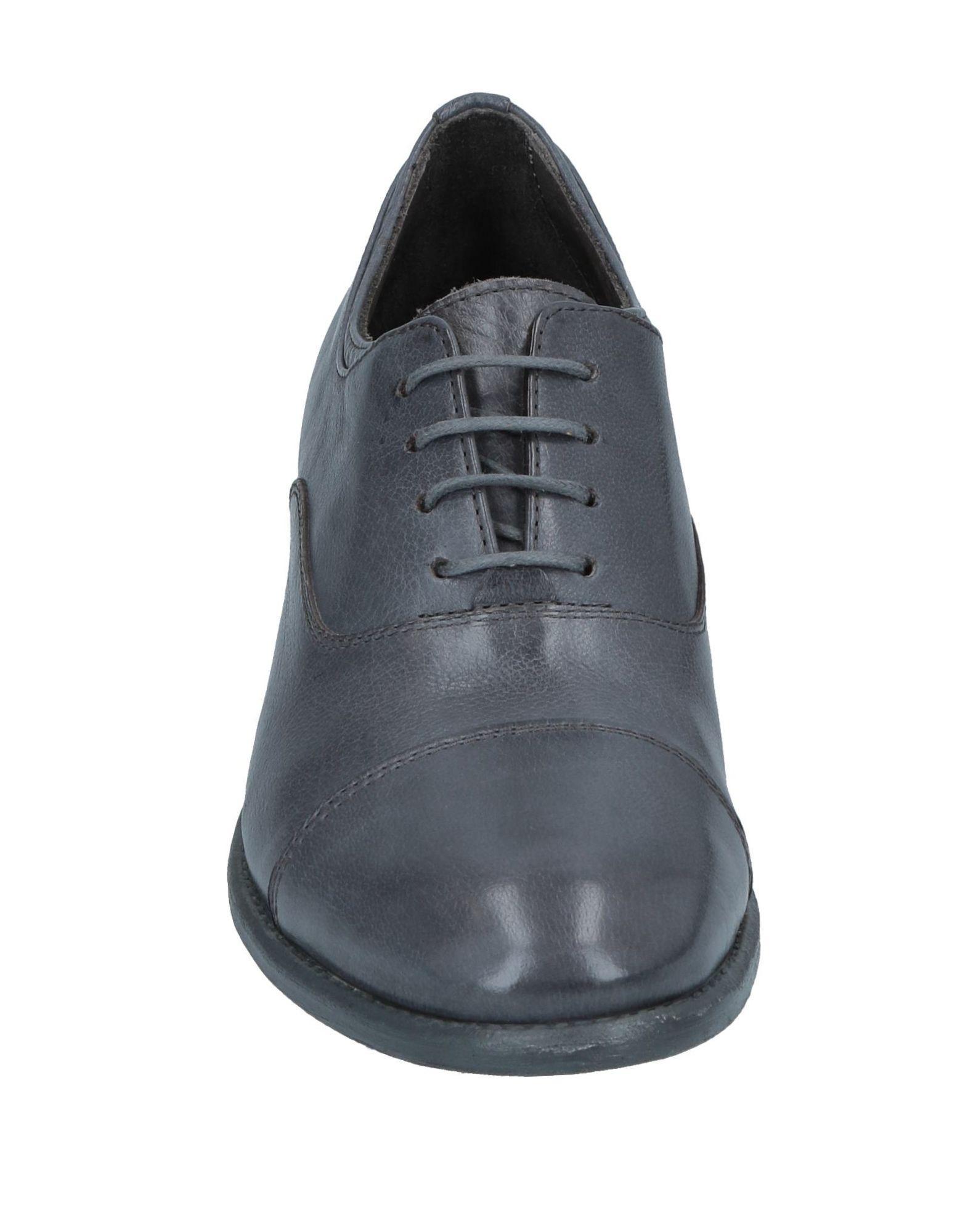 Zapatos de cordones Hundred 100 de Cuero de color Gris