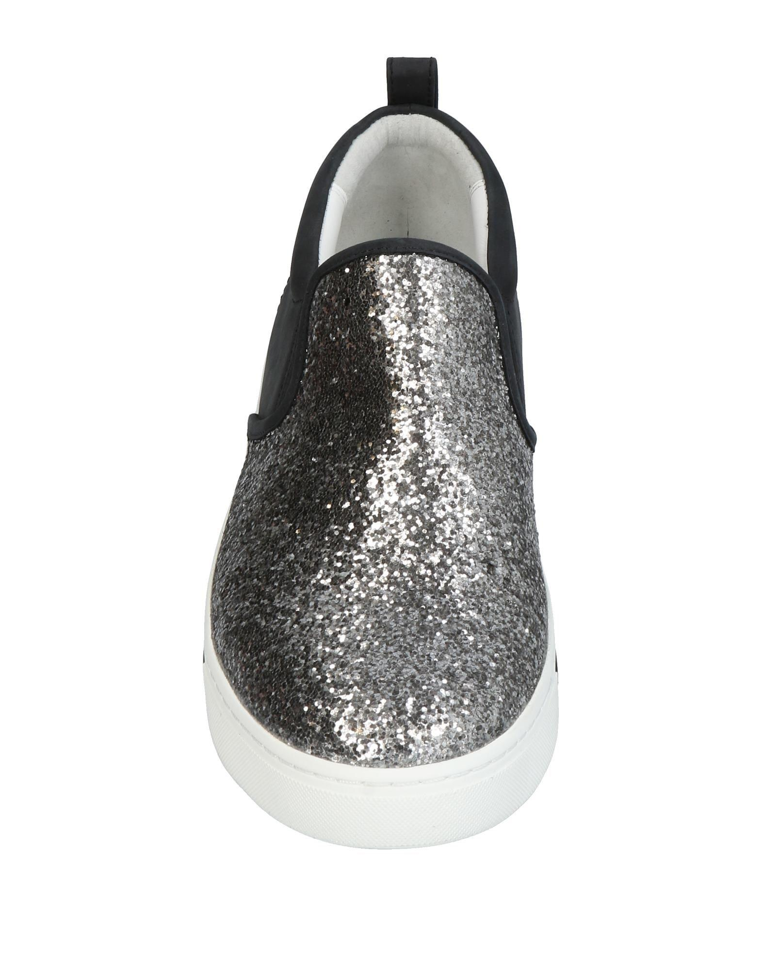 Marc By Marc Jacobs Leather Low-tops & Sneakers in Silver (Metallic)