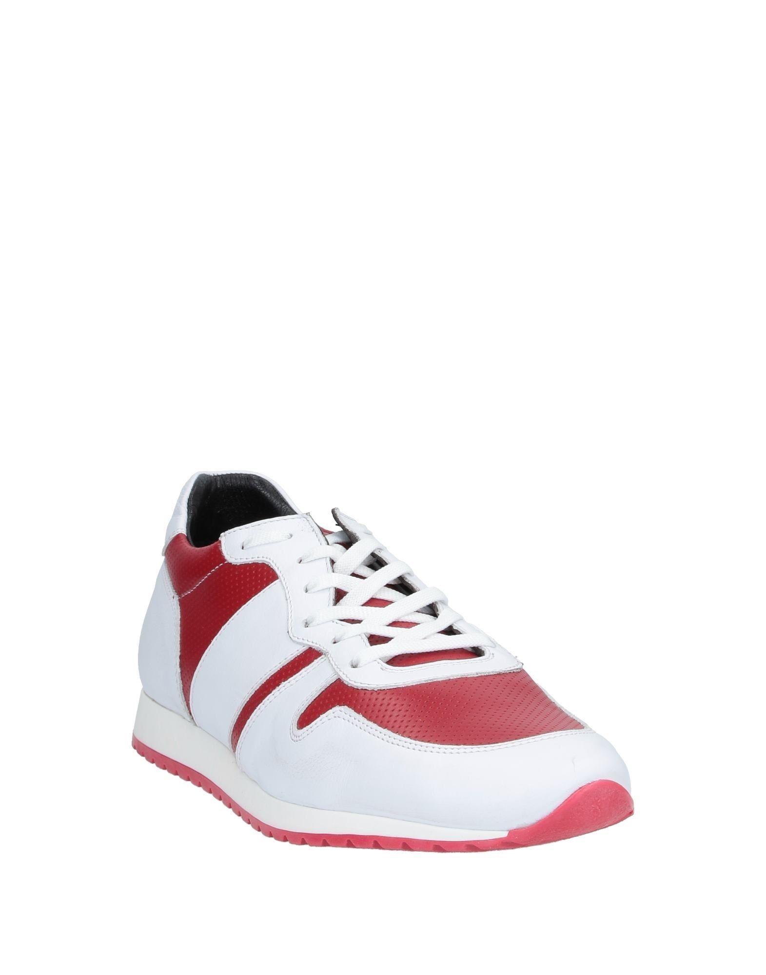 Sneakers & Deportivas Gianfranco Lattanzi de Cuero de color Rojo para hombre