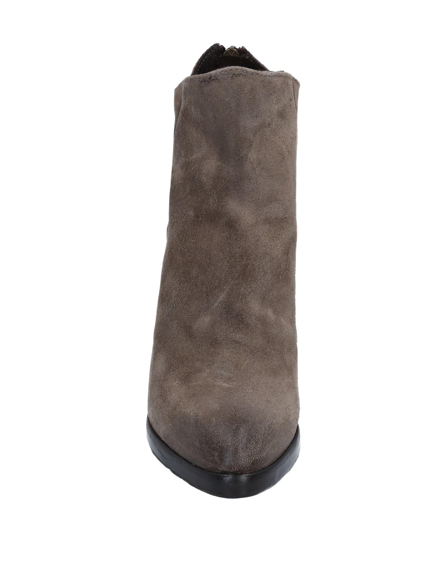 Hundred 100 Leather Ankle Boots in Khaki (Brown)