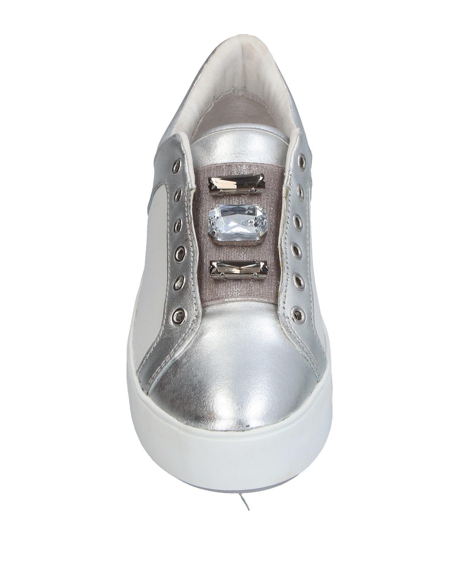Apepazza Rubber Low-tops & Sneakers in Silver (Metallic)