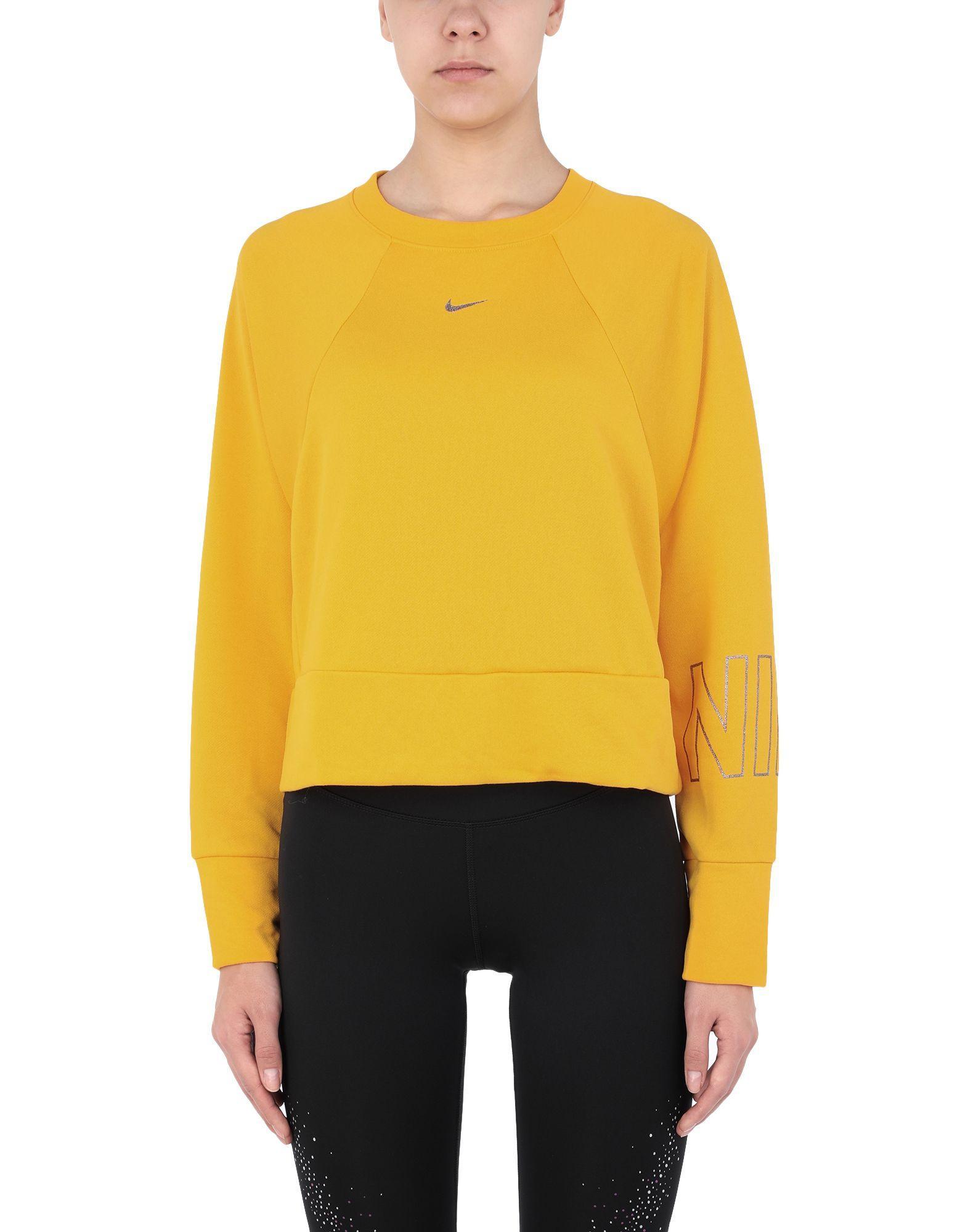 Sudadera Nike de Tejido sintético de color Amarillo