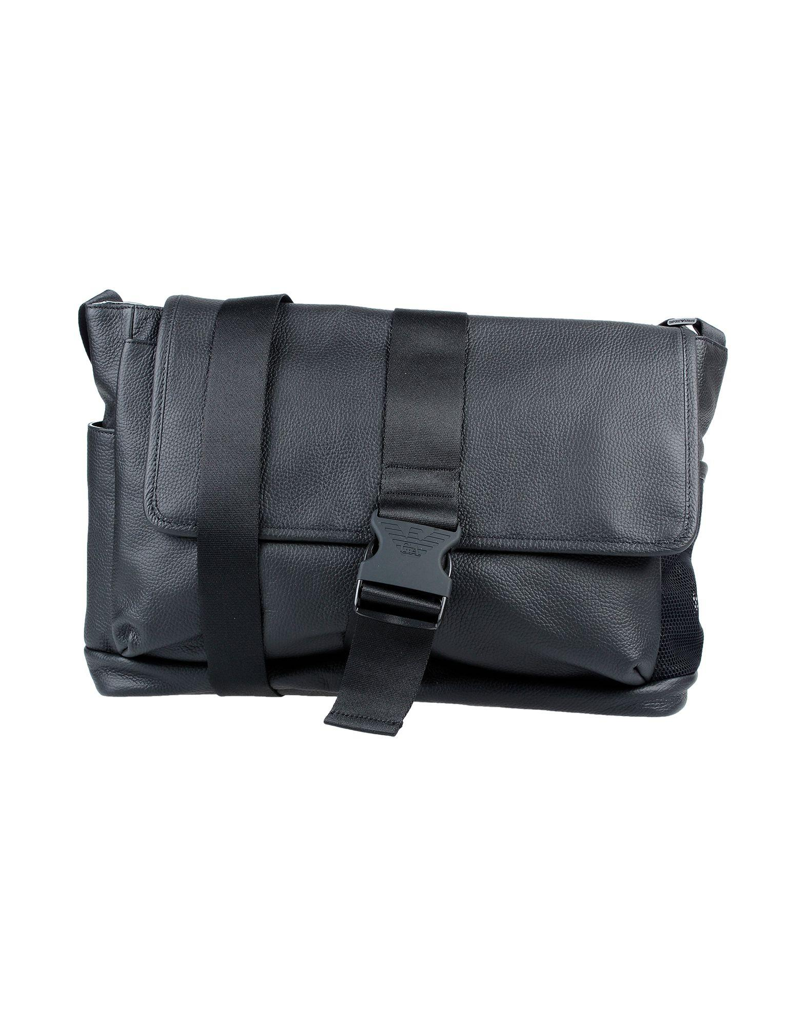8f2f16a10 Bolso con bandolera Emporio Armani de hombre de color Negro - Lyst