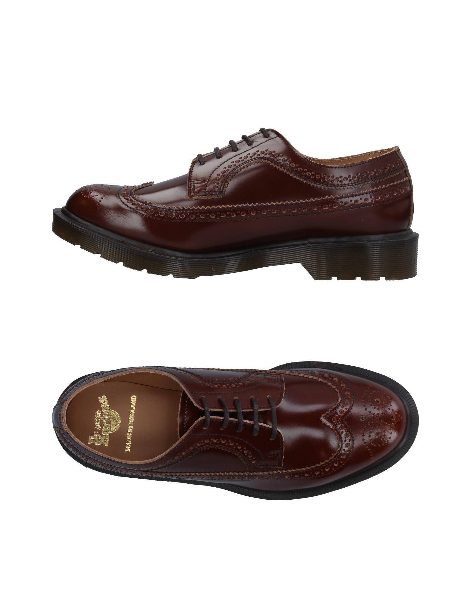 Dr. Martens Leather Lace up Shoe in Brown for Men Lyst