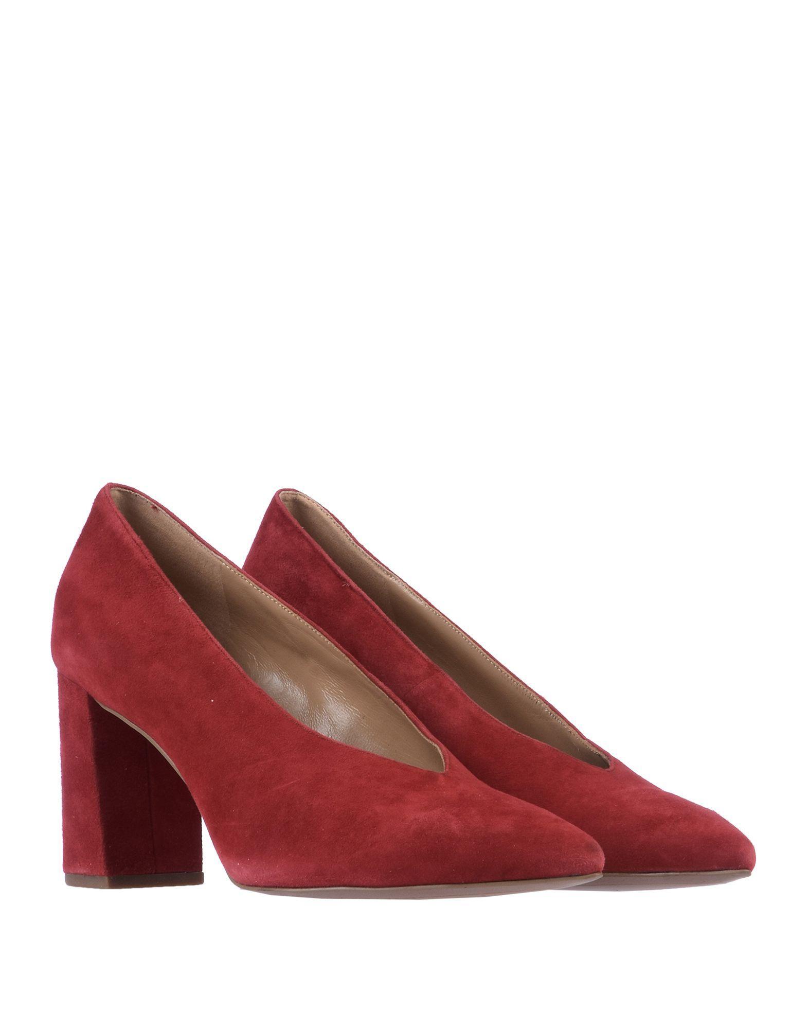 Zapatos de salón MICHAEL Michael Kors de Ante de color Rojo