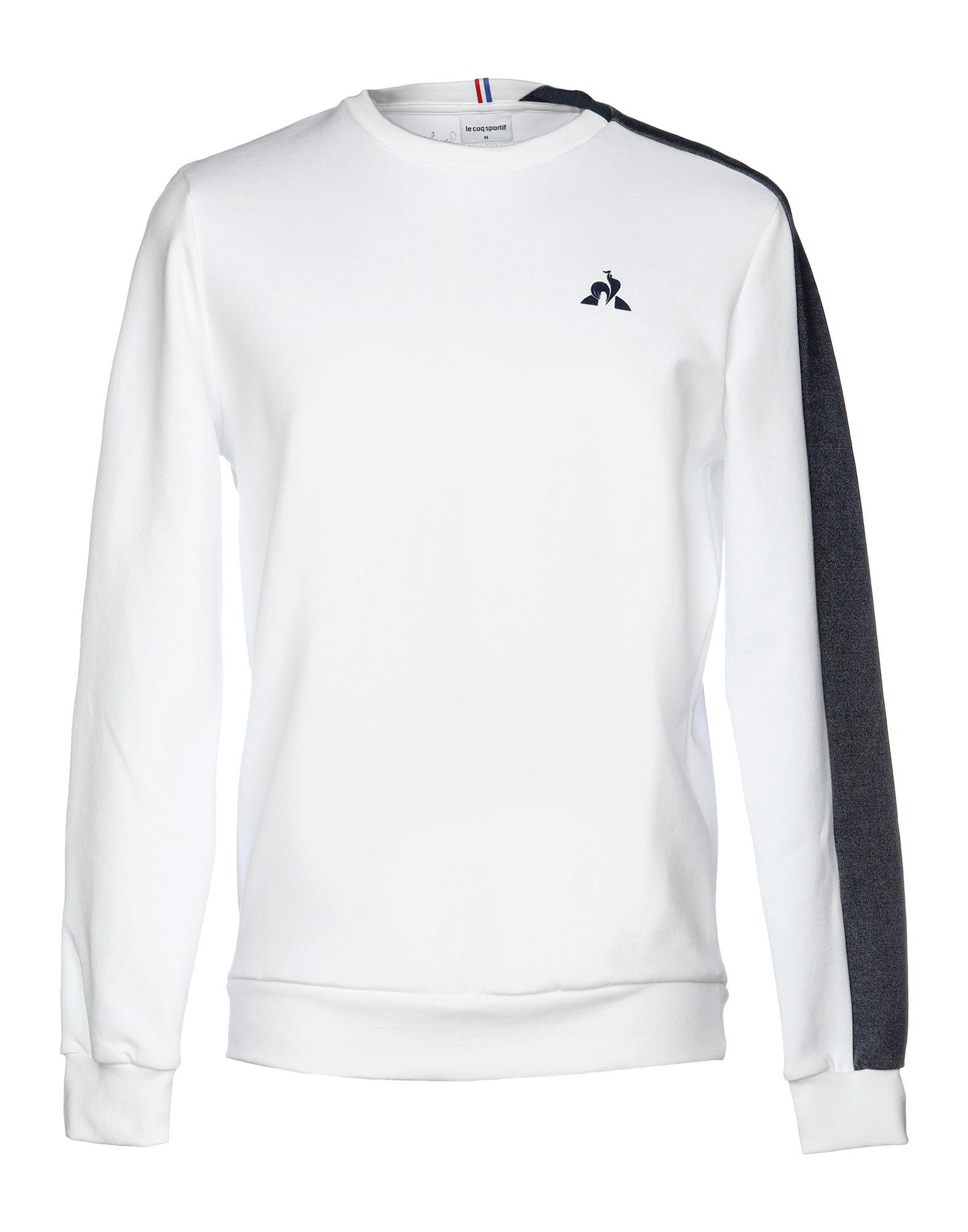 df5b1927b557 Le Coq Sportif - White Sweatshirt for Men - Lyst. View fullscreen