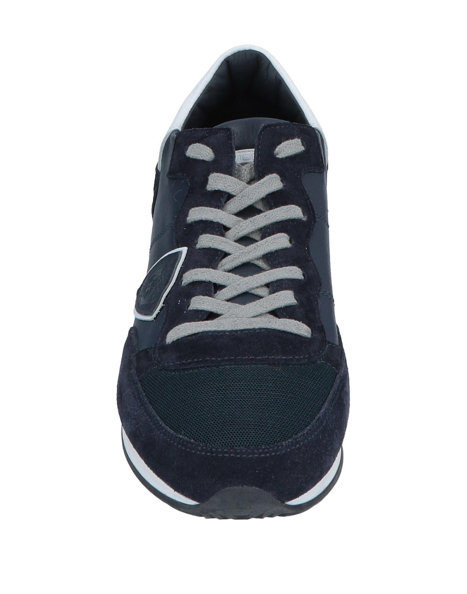 Sneakers & Deportivas Philippe Model de Cuero de color Azul para hombre