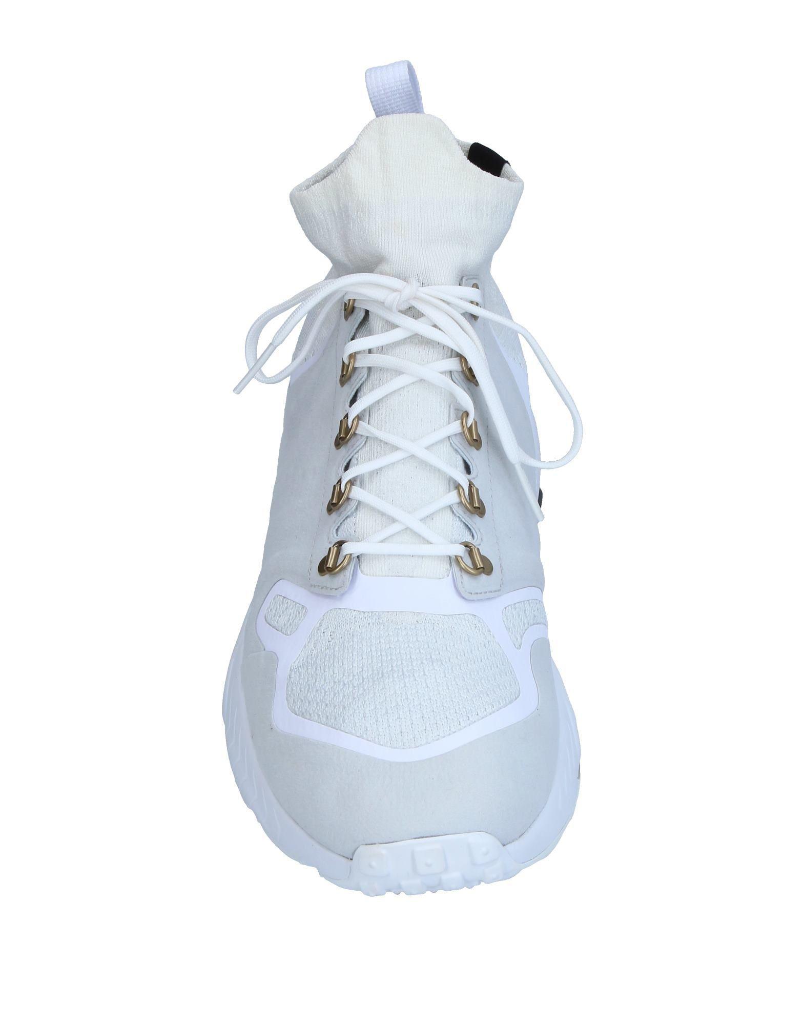 Sneakers abotinadas Nike de hombre de color Blanco