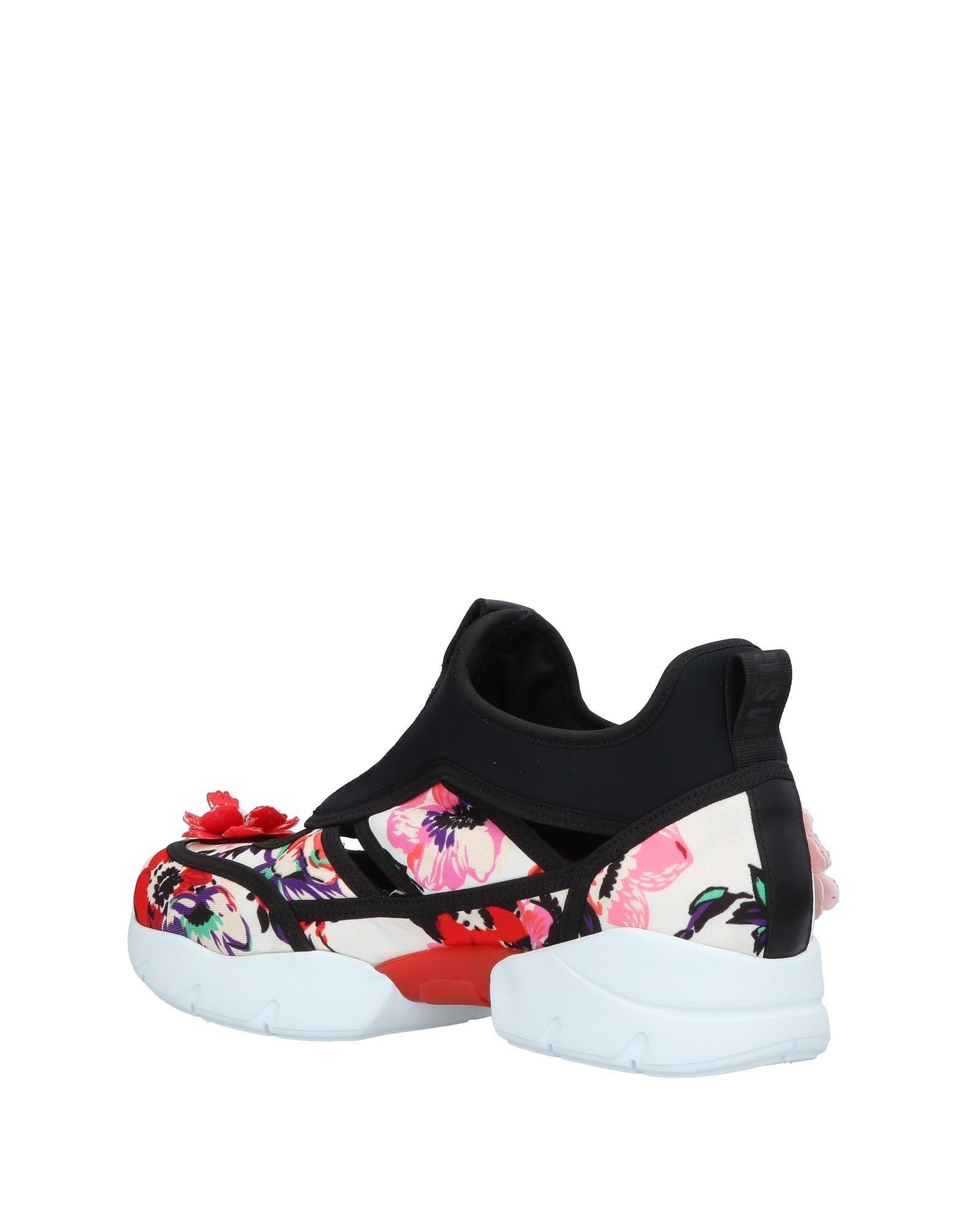 MSGM Neoprene Low-tops & Sneakers in Ivory (White)