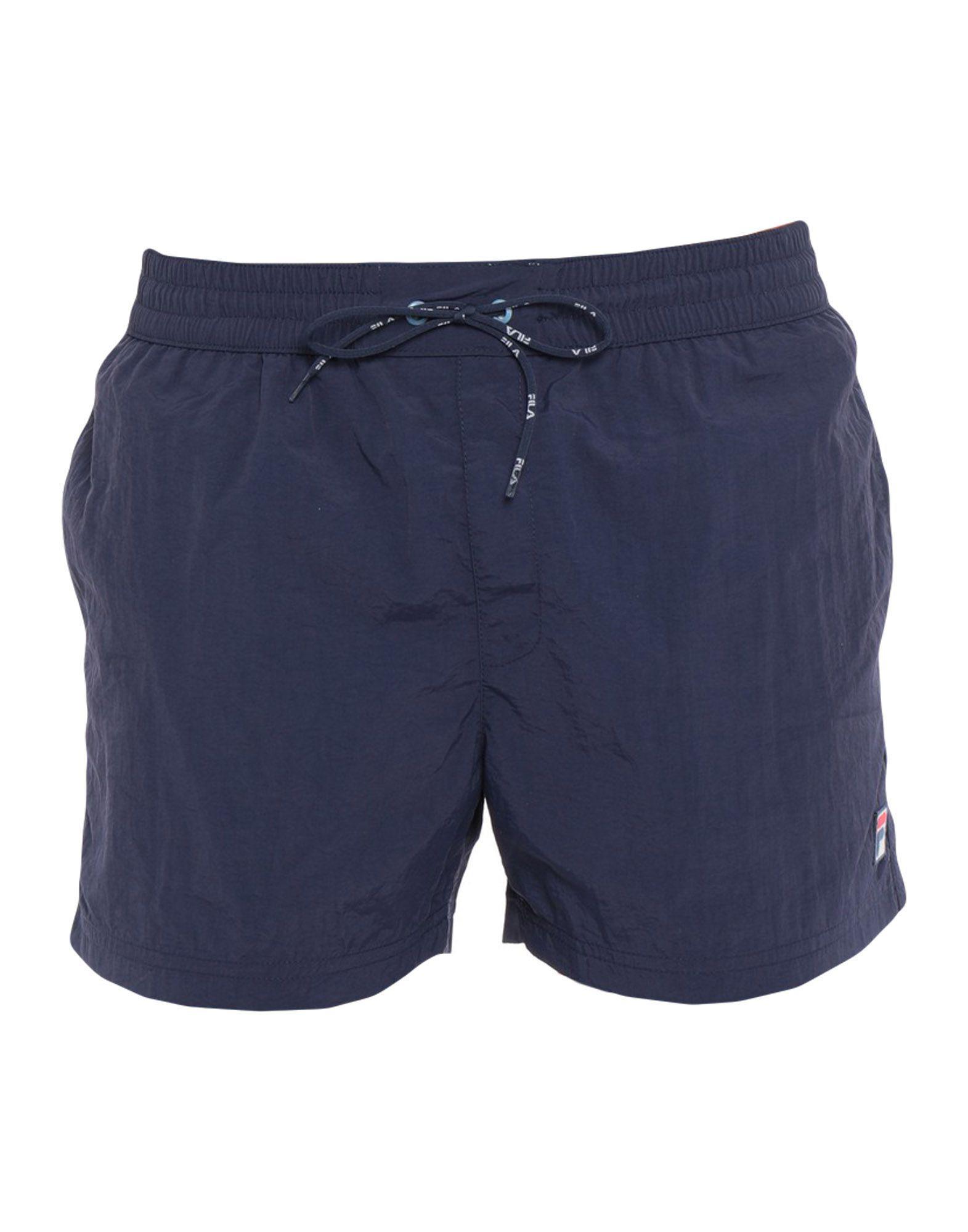dd3875758ed20 Fila - Blue Swim Trunks for Men - Lyst. View fullscreen