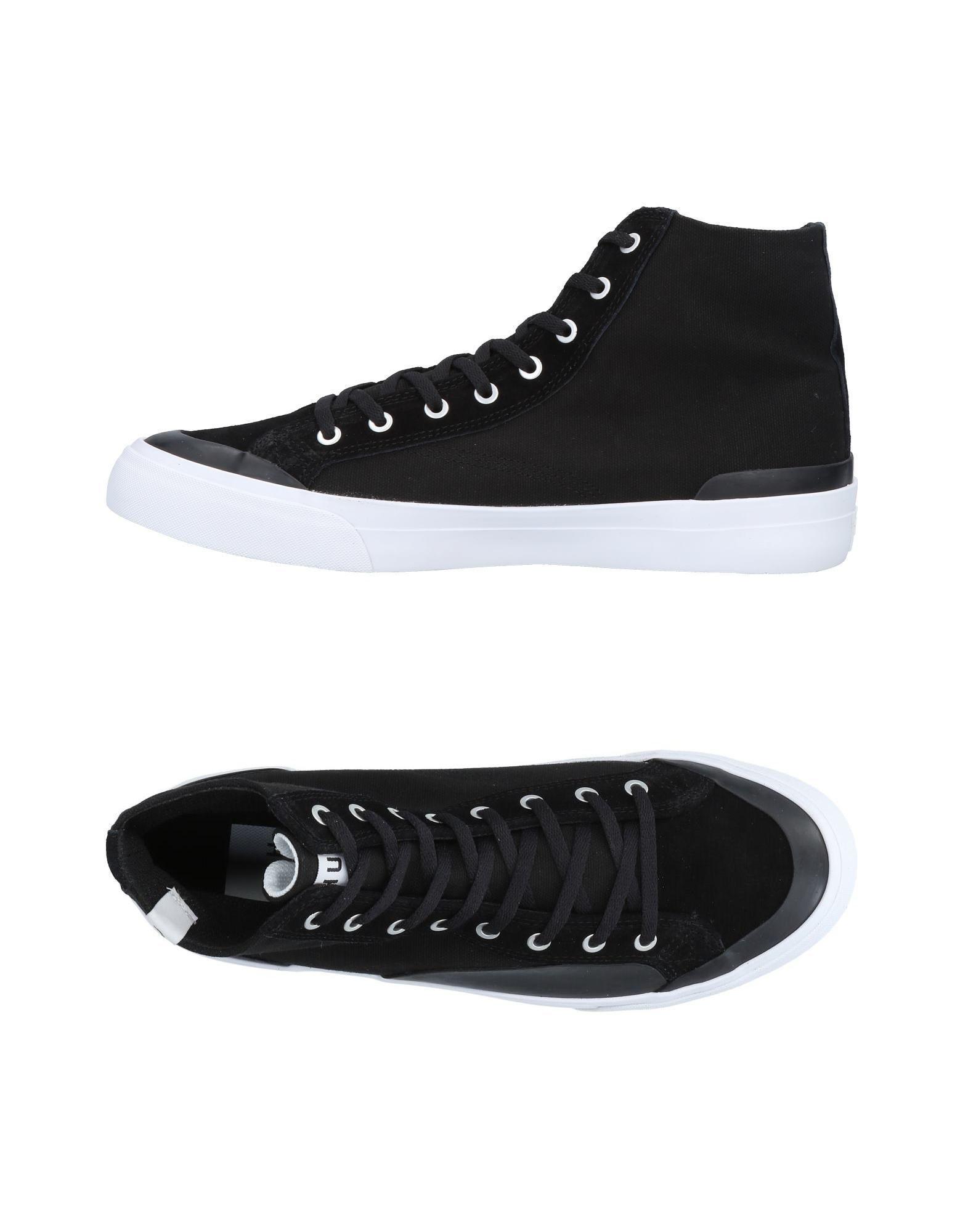 c1f96a65e9cd Huf - Black High-tops   Sneakers - Lyst. View fullscreen