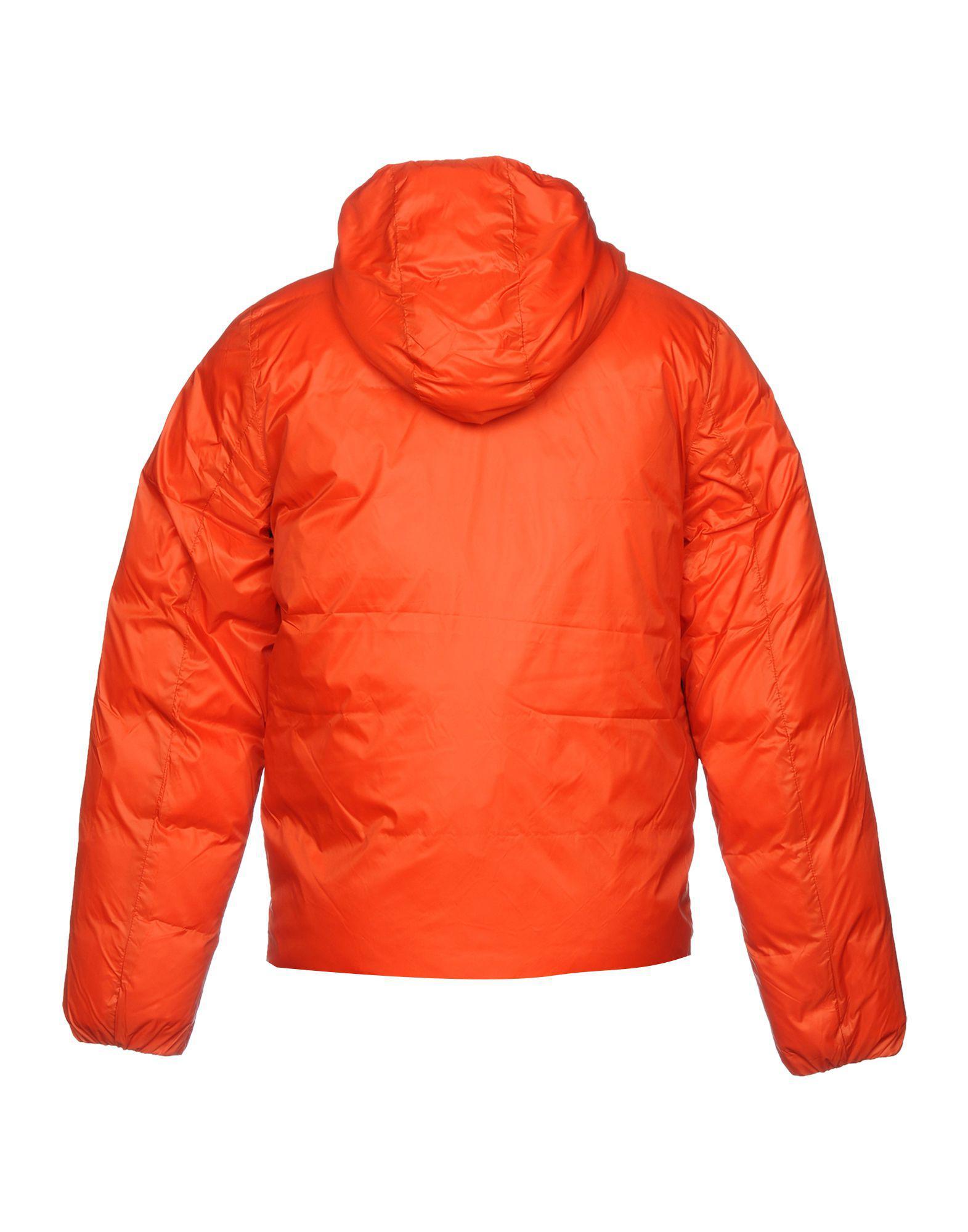 K-Way Synthetic Down Jacket in Rust (Orange) for Men