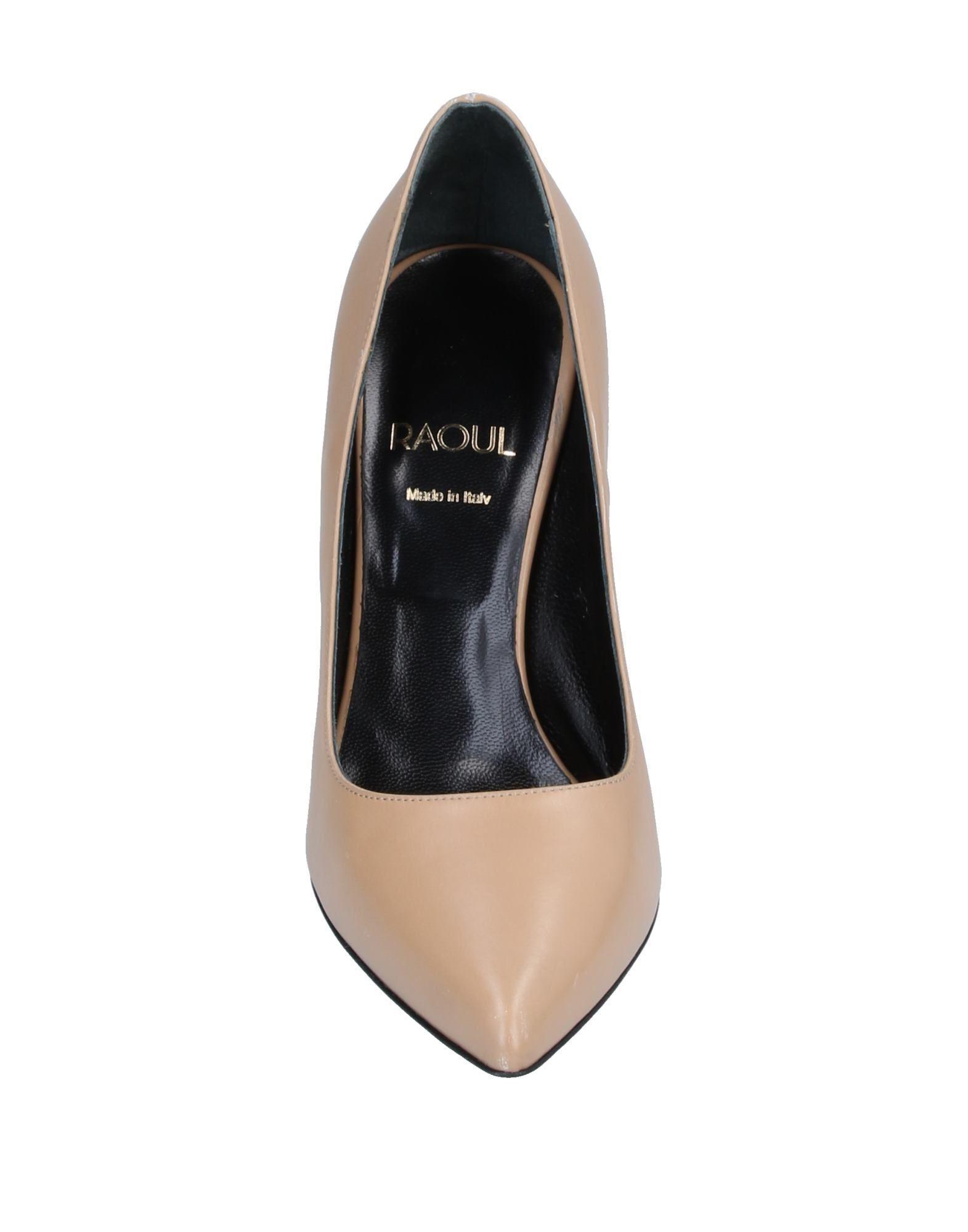 Zapatos de salón Raoul de Cuero de color Neutro