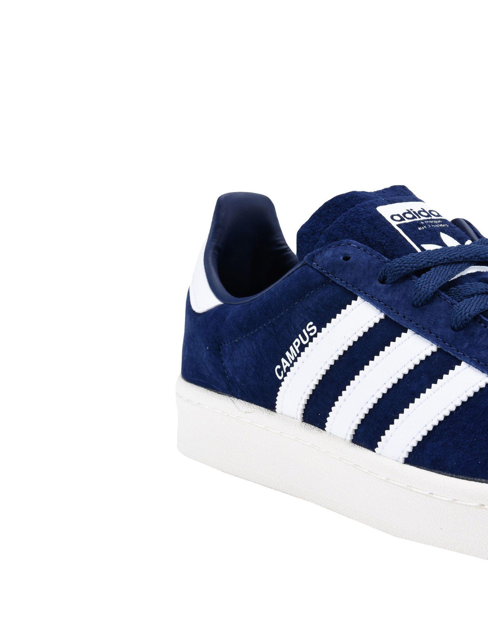 adidas Originals Suede Low-tops & Sneakers in Dark Blue (Blue)